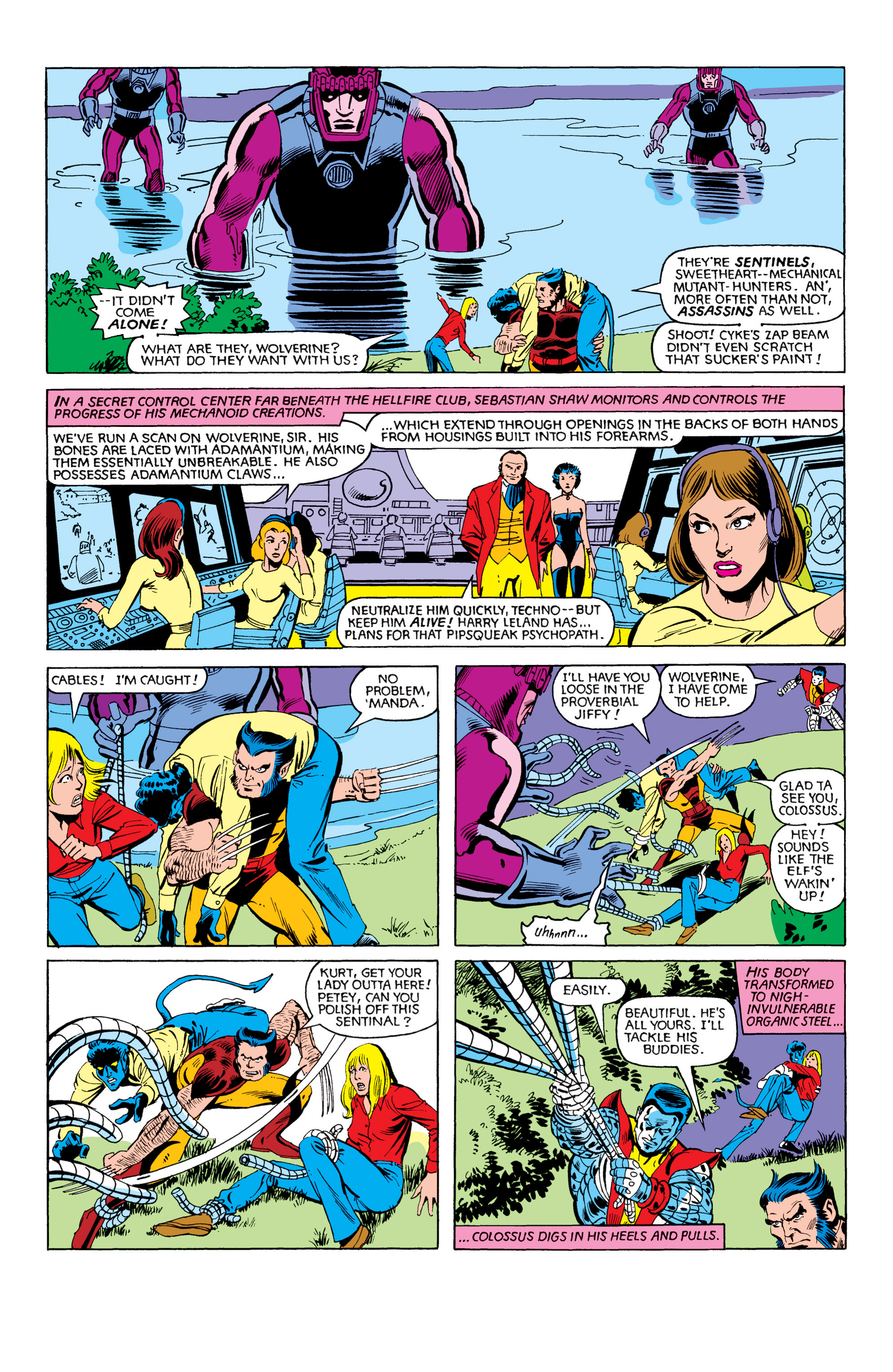 Read online Uncanny X-Men (1963) comic -  Issue #151 - 16
