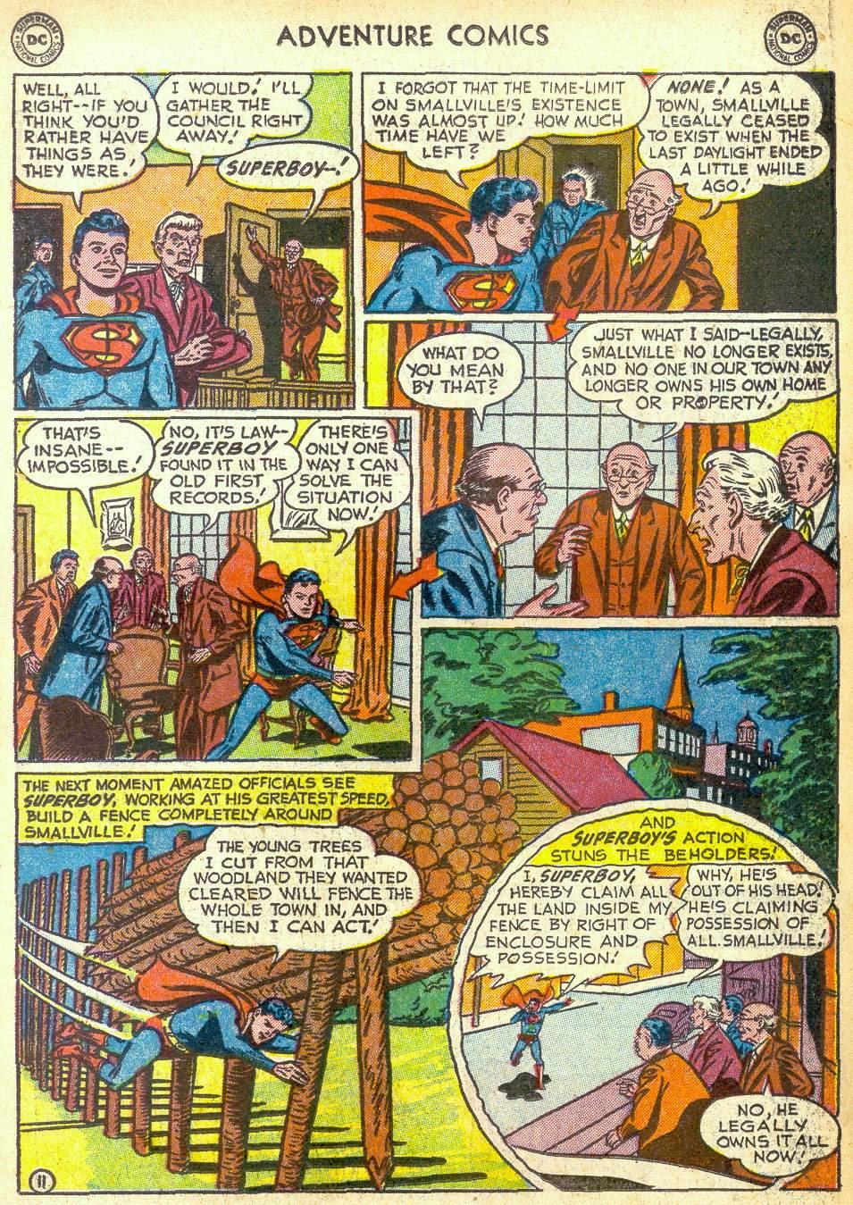 Read online Adventure Comics (1938) comic -  Issue #172 - 13