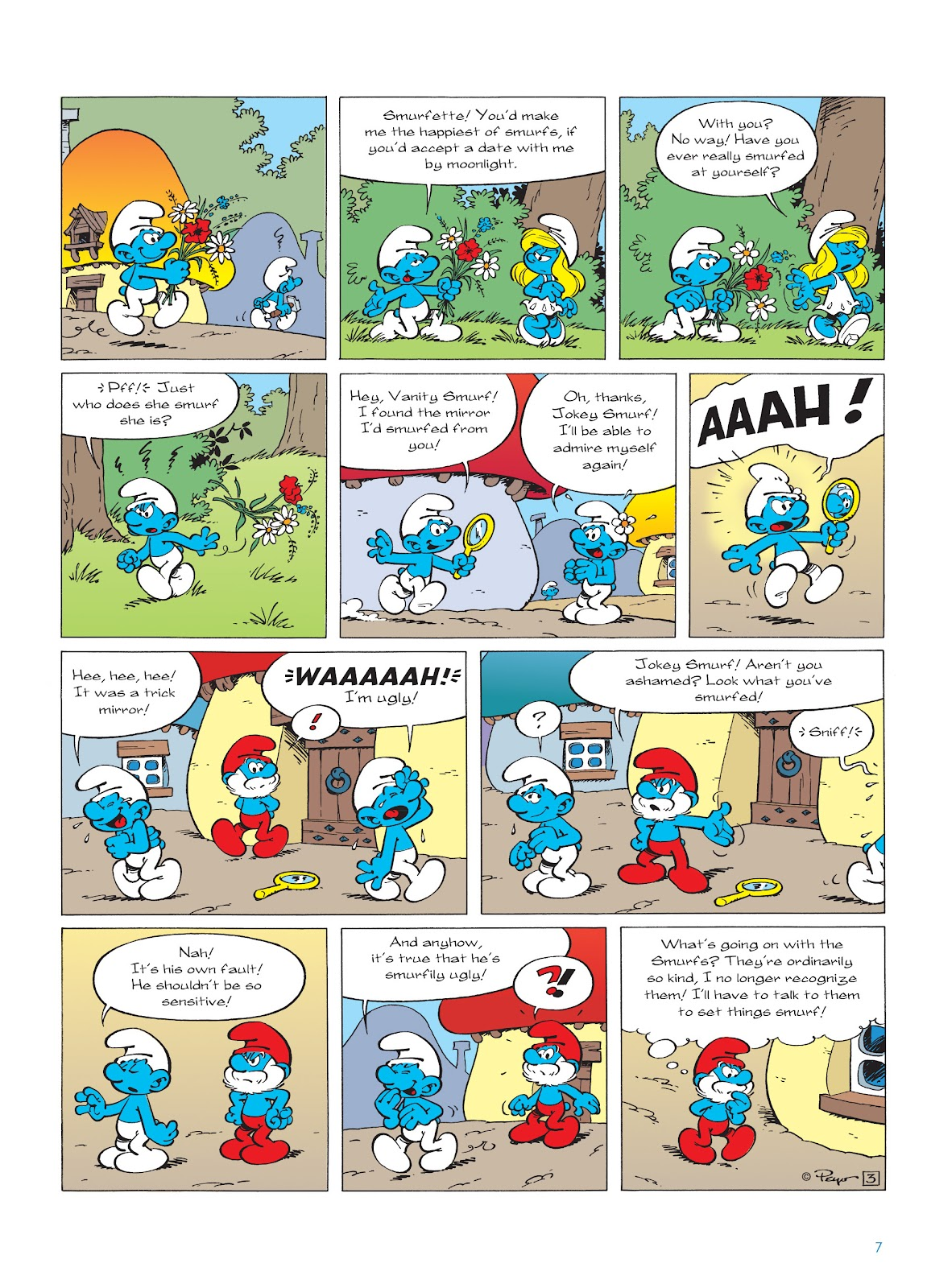 Read online The Smurfs comic -  Issue #22 - 8