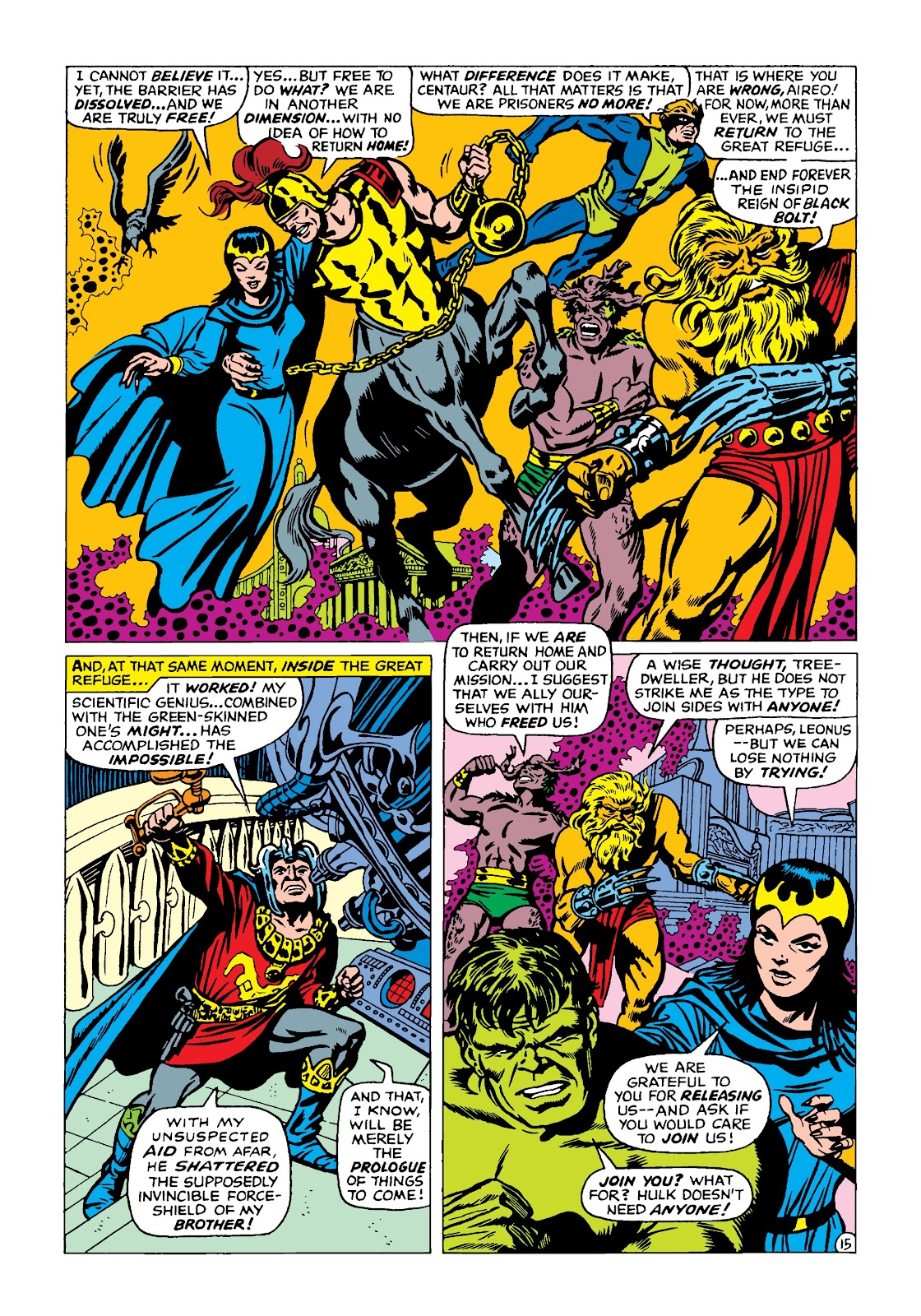 Read online Marvel Masterworks: The Incredible Hulk comic -  Issue # TPB 4 (Part 2) - 48