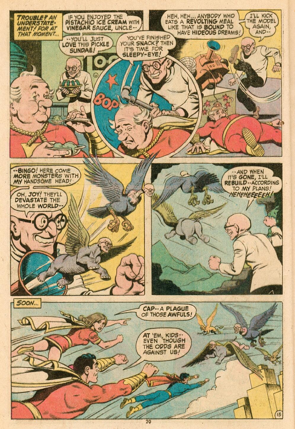 Read online Shazam! (1973) comic -  Issue #14 - 17