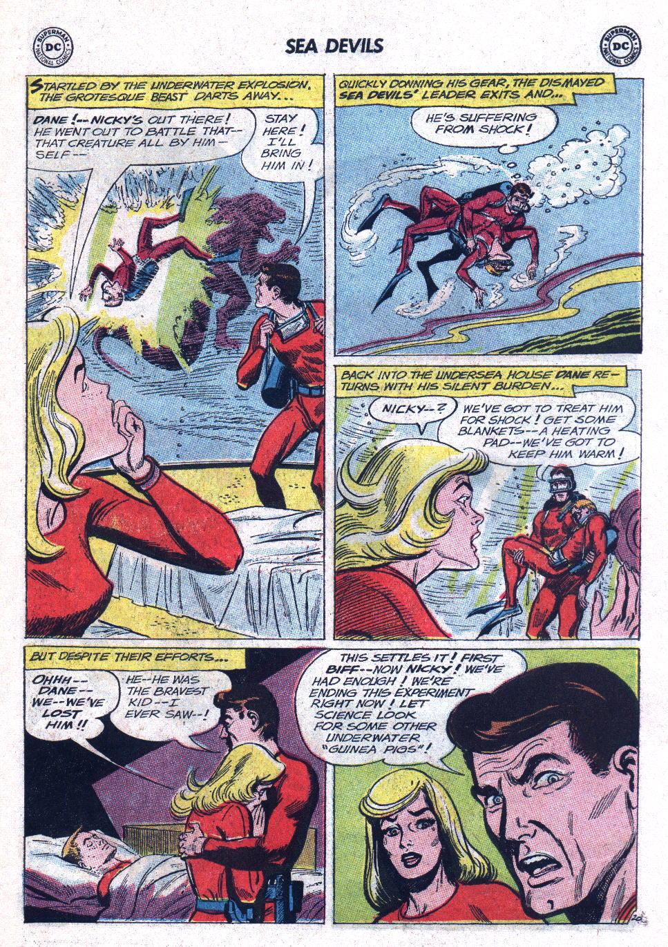 Read online Sea Devils comic -  Issue #11 - 27