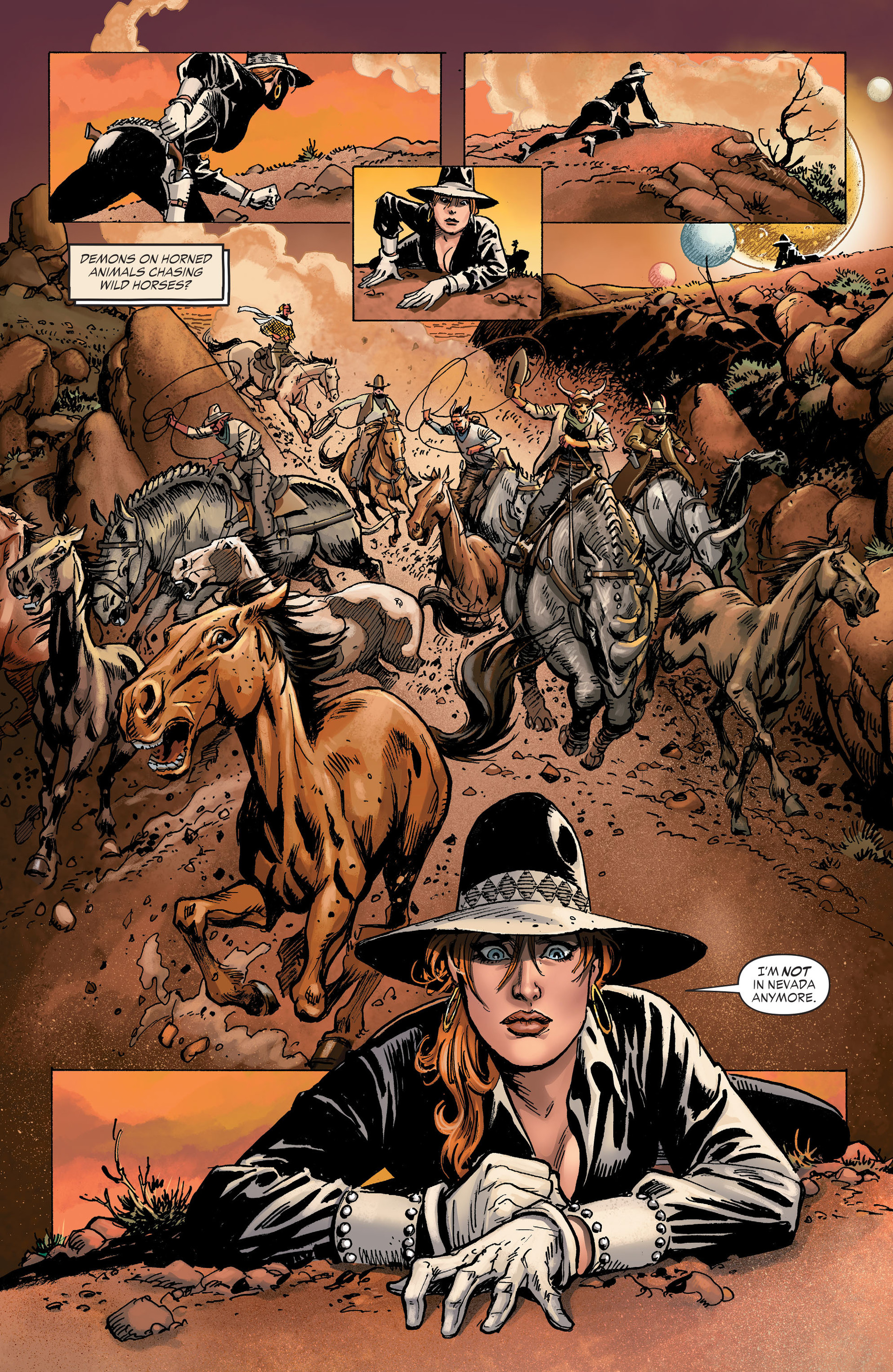 Read online All-Star Western (2011) comic -  Issue #31 - 16