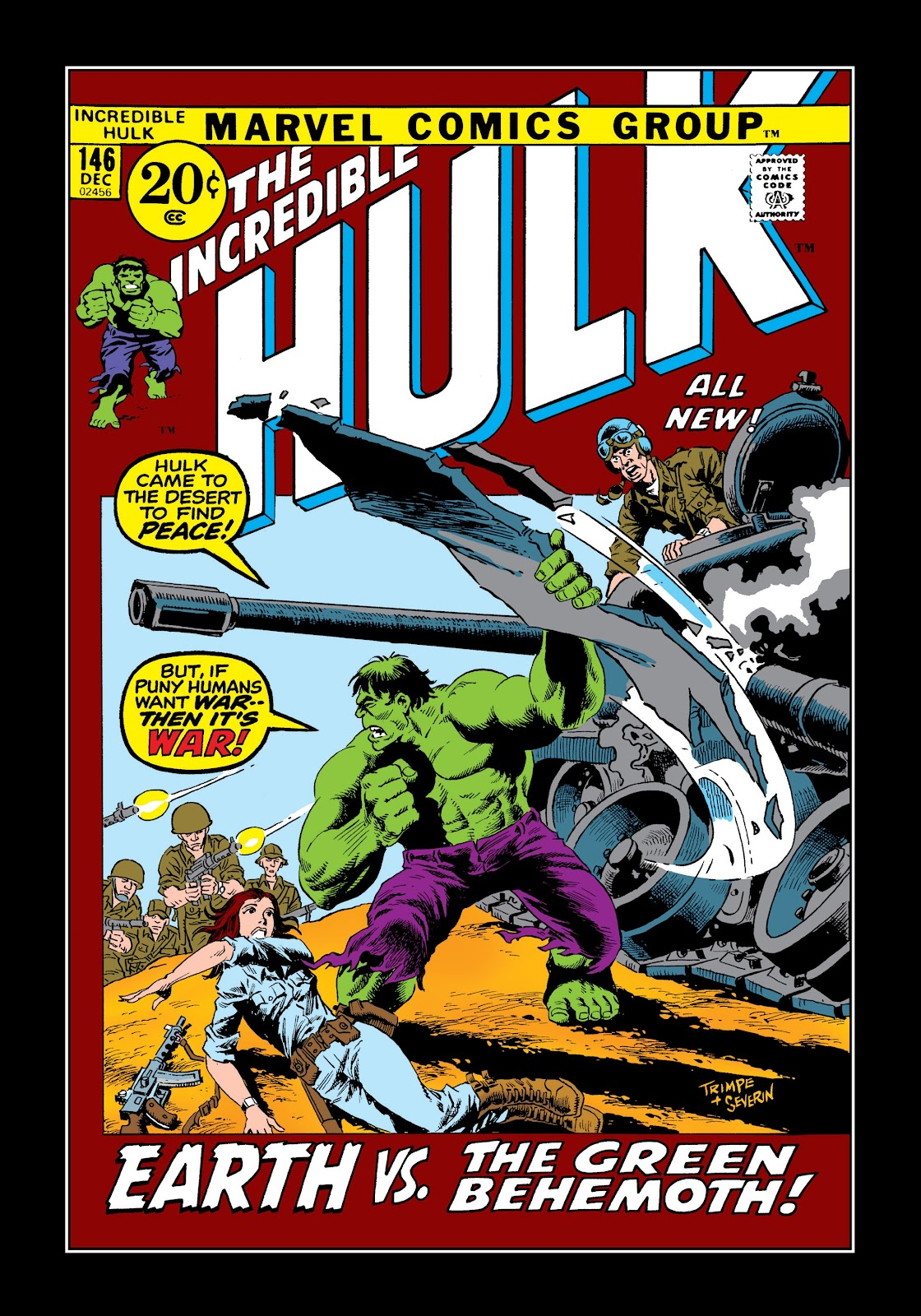 Read online Marvel Masterworks: The Incredible Hulk comic -  Issue # TPB 8 (Part 1) - 41
