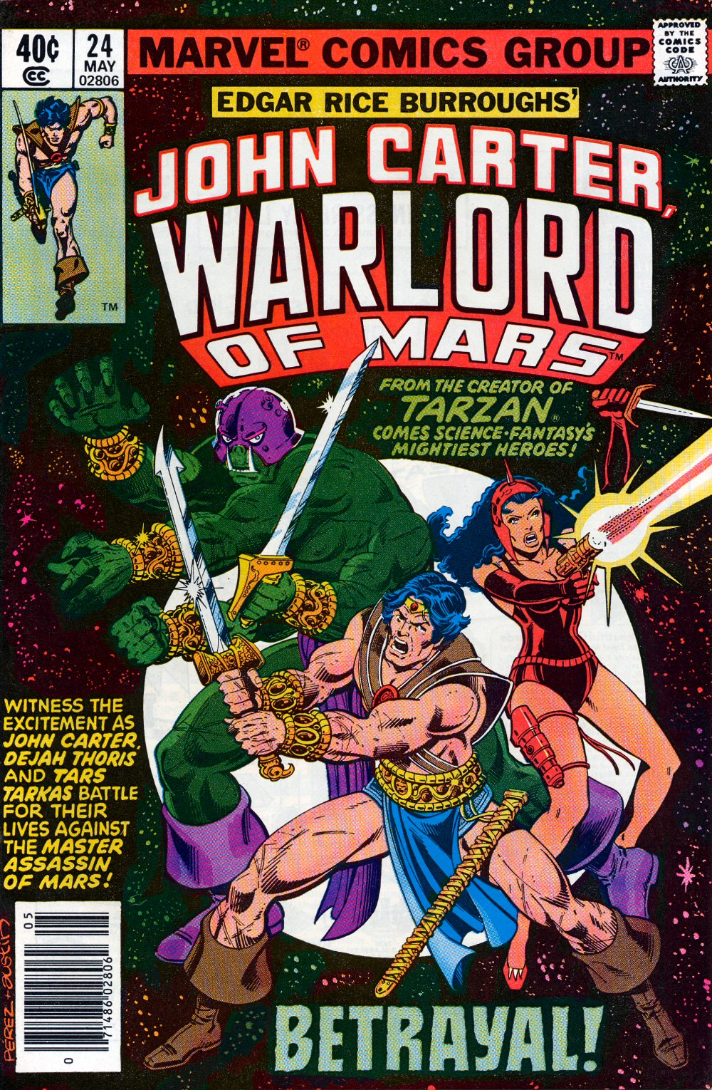 John Carter Warlord of Mars issue 24 - Page 1