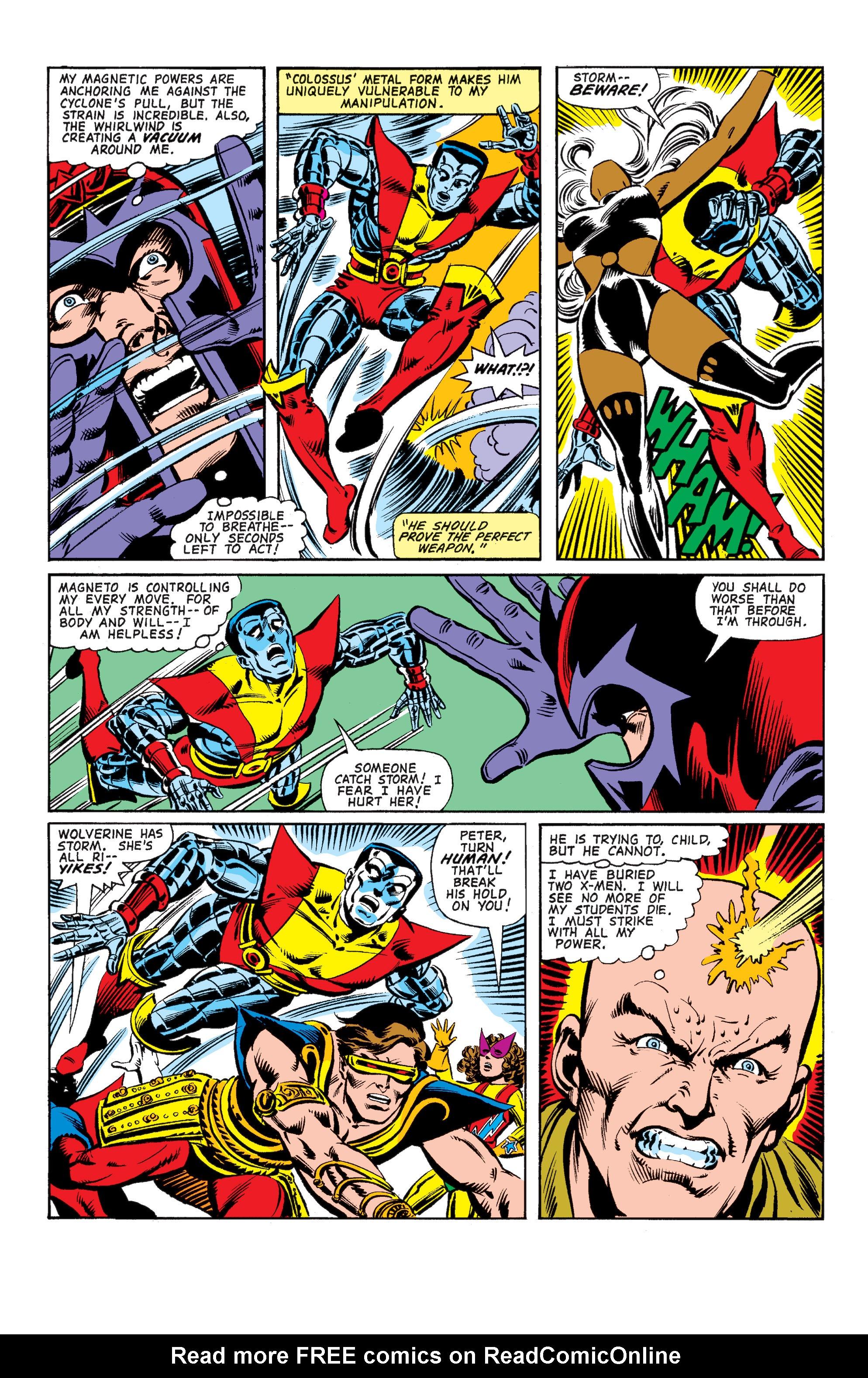 Read online Uncanny X-Men (1963) comic -  Issue #150 - 33