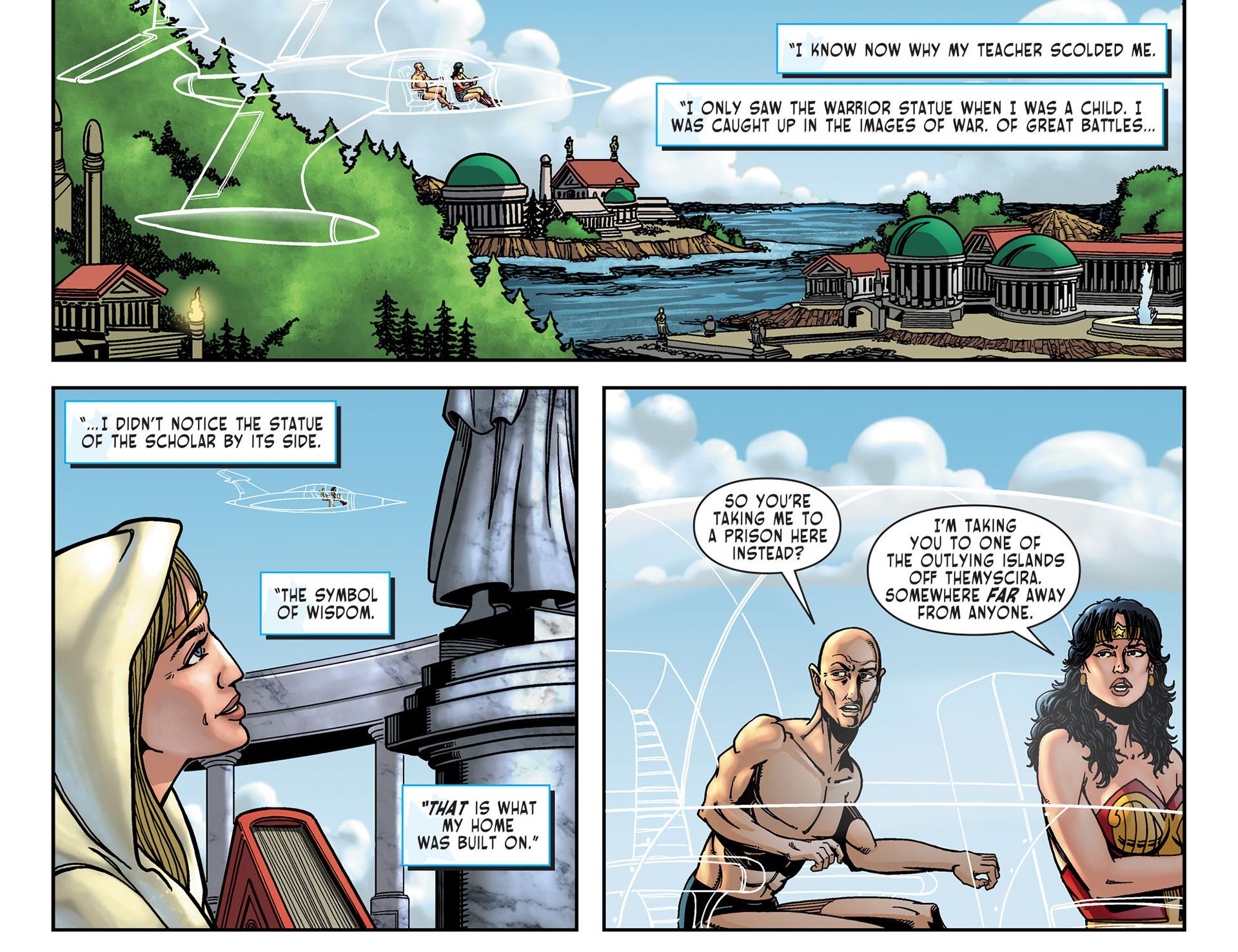 Read online Sensation Comics Featuring Wonder Woman comic -  Issue #10 - 21