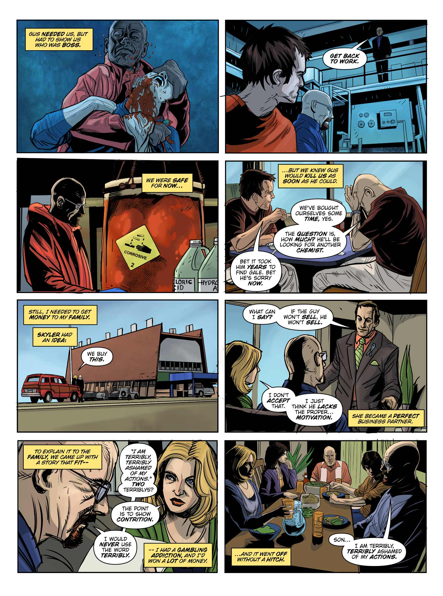 Read online Breaking Bad: All Bad Things comic -  Issue # Full - 14