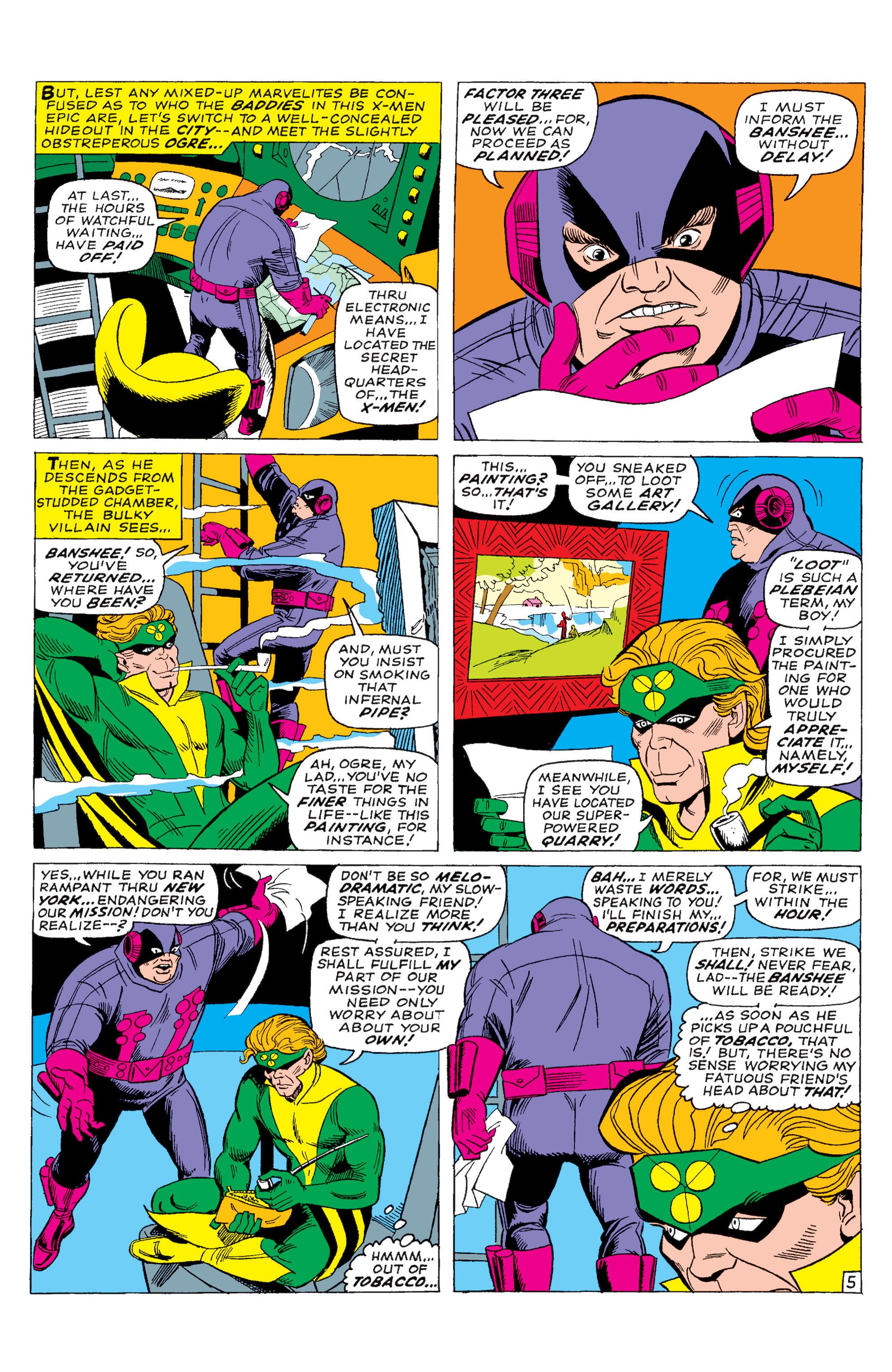 Read online Uncanny X-Men (1963) comic -  Issue #28 - 6