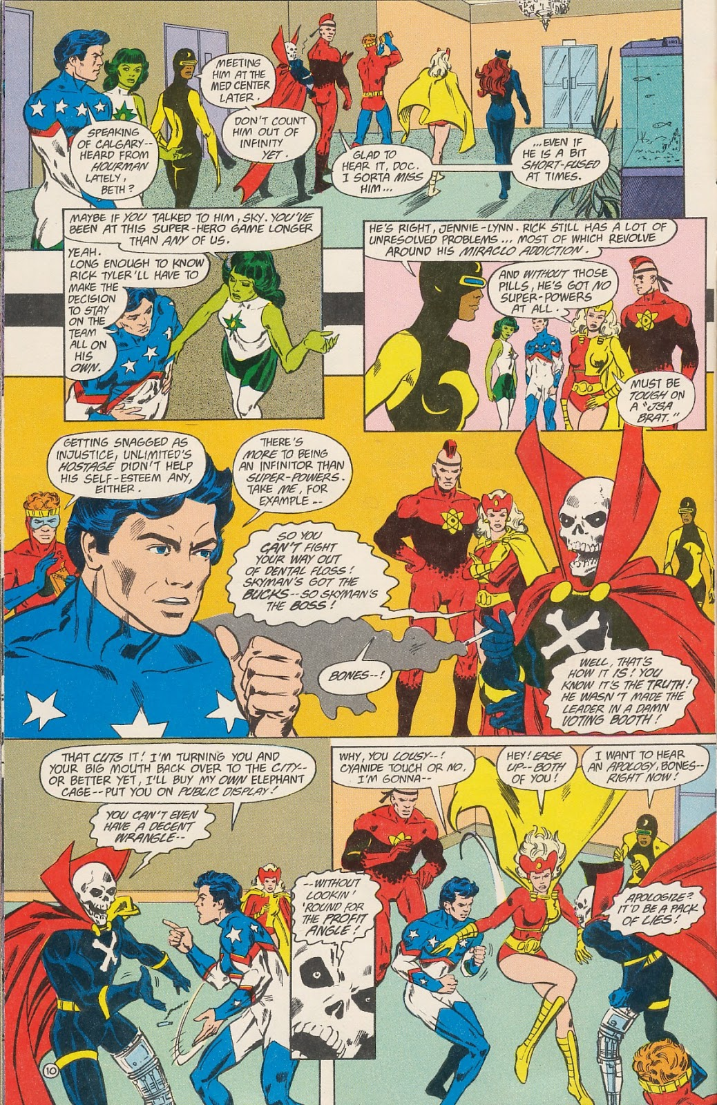 Infinity Inc. (1984) issue 40 - Page 12