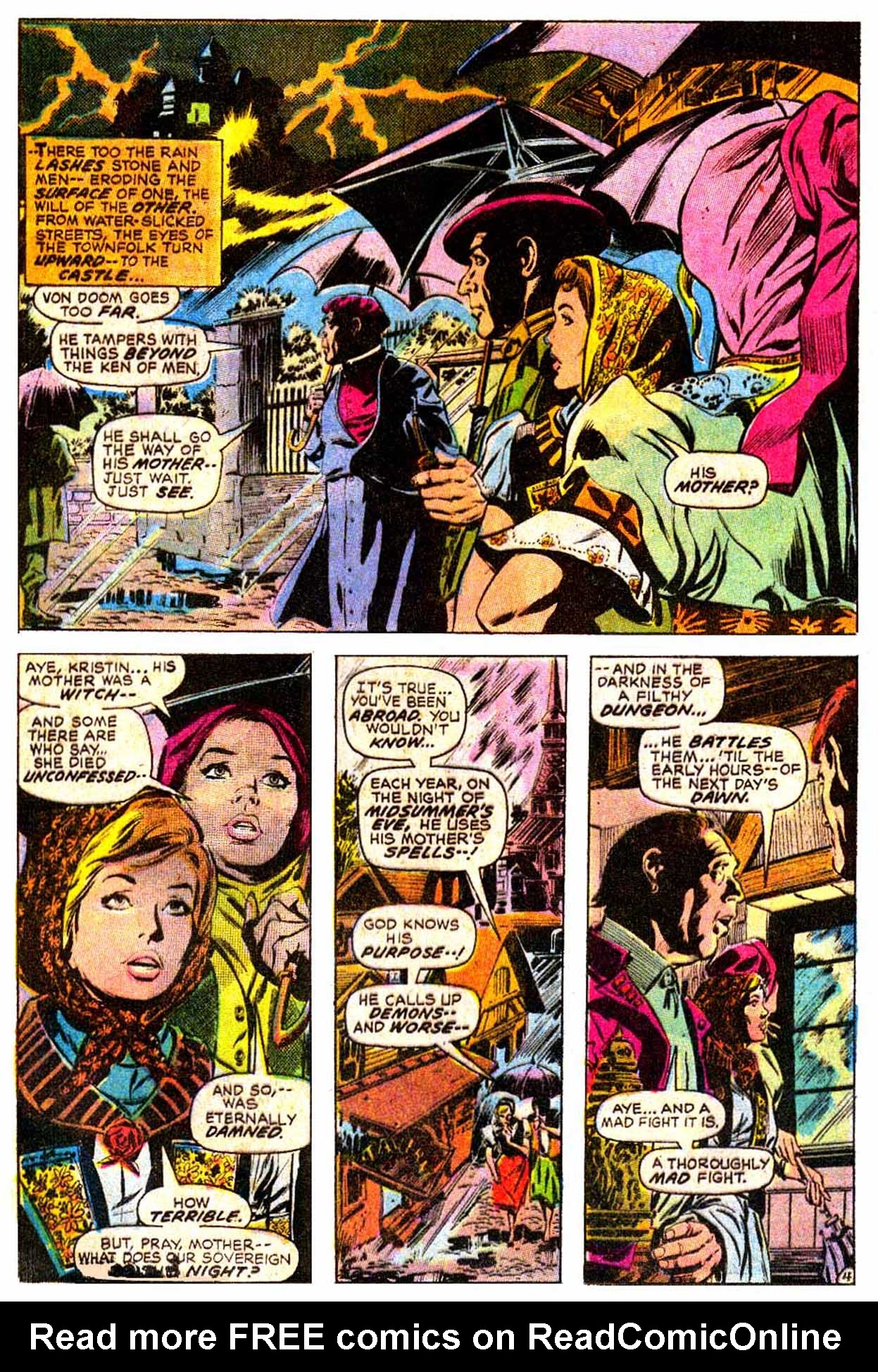 Read online Astonishing Tales (1970) comic -  Issue #8 - 16