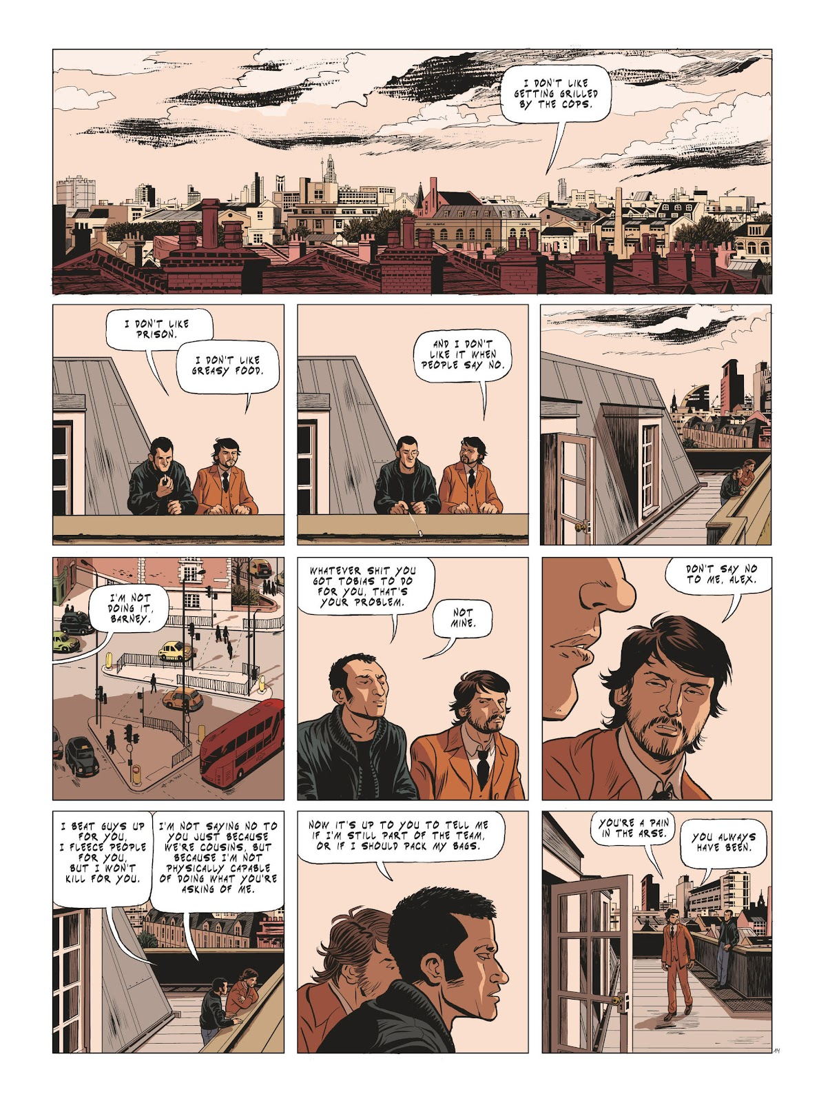 Read online Maggy Garrisson comic -  Issue #3 - 16