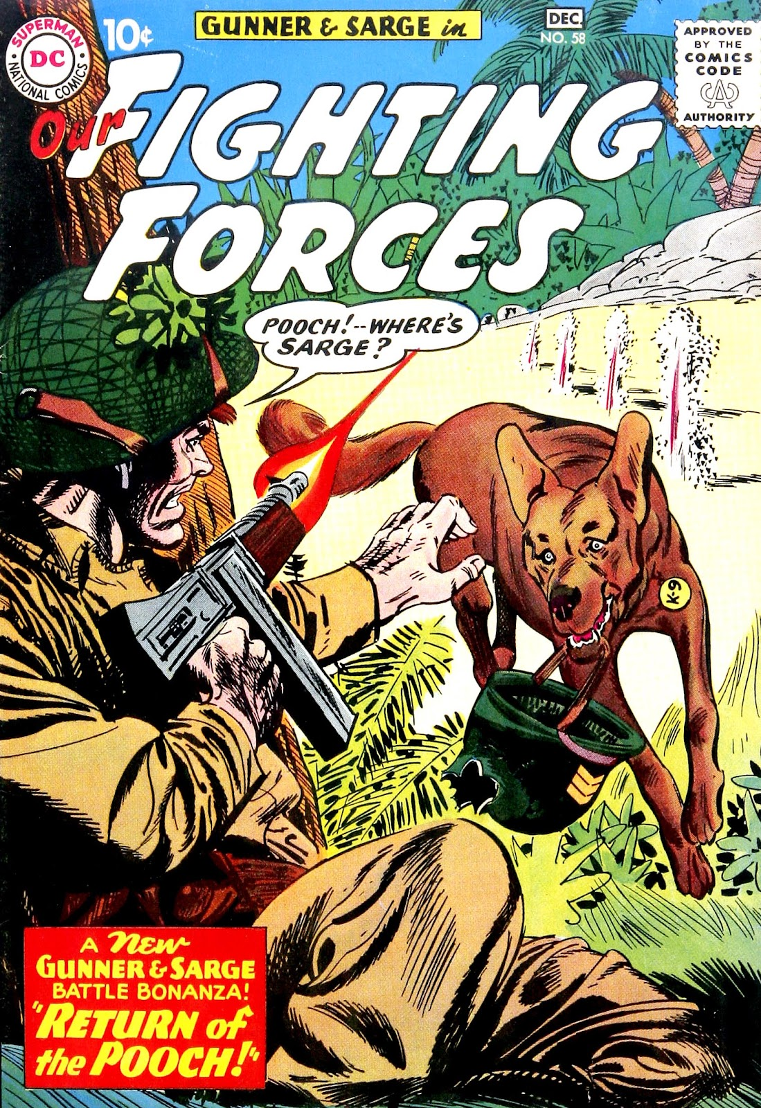 Our Fighting Forces (1954) issue 58 - Page 1