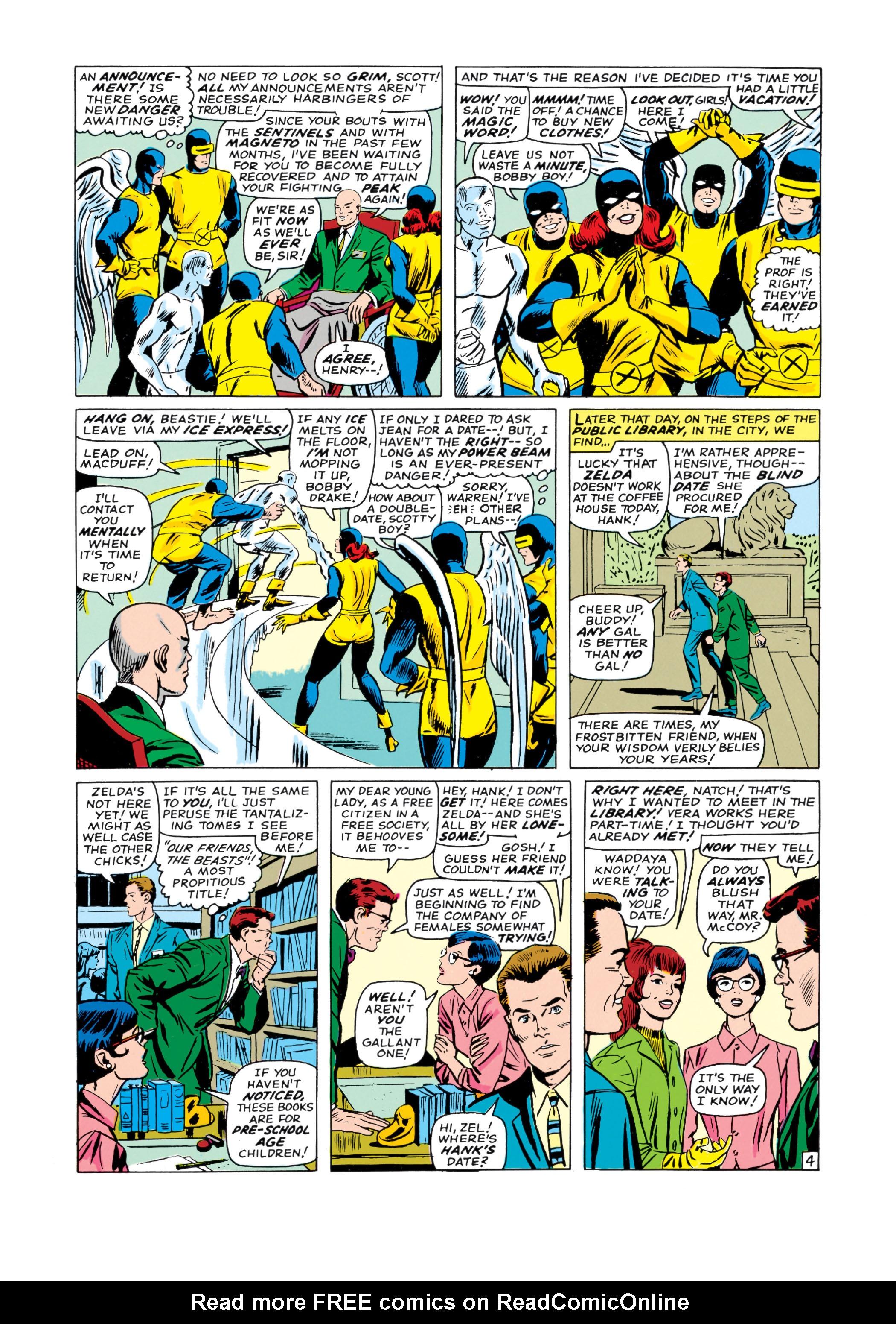 Read online Uncanny X-Men (1963) comic -  Issue #19 - 5
