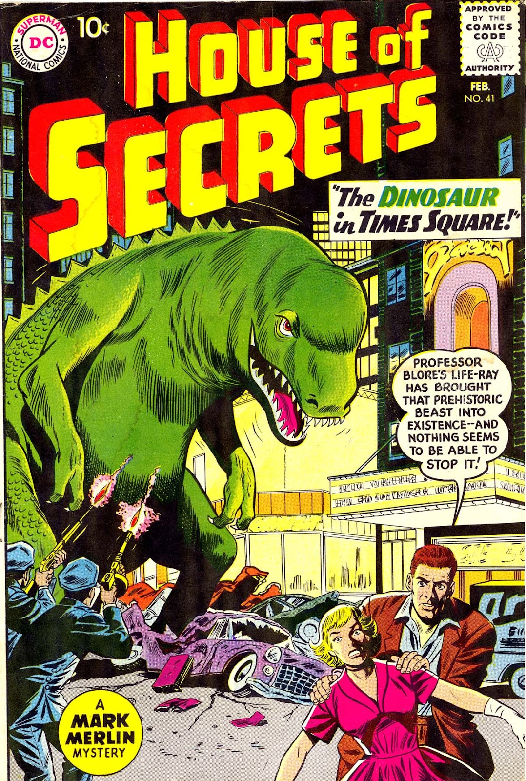 House of Secrets (1956) issue 41 - Page 1