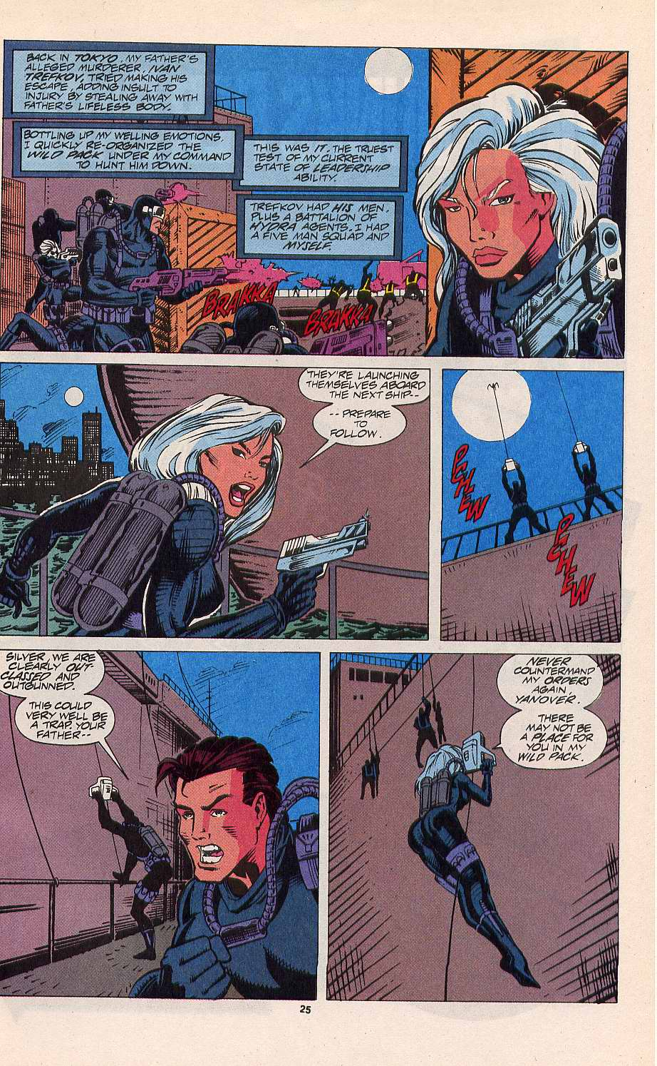Read online Silver Sable and the Wild Pack comic -  Issue #11 - 20