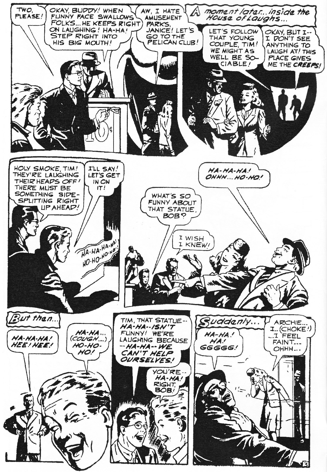Read online Men of Mystery Comics comic -  Issue #76 - 6