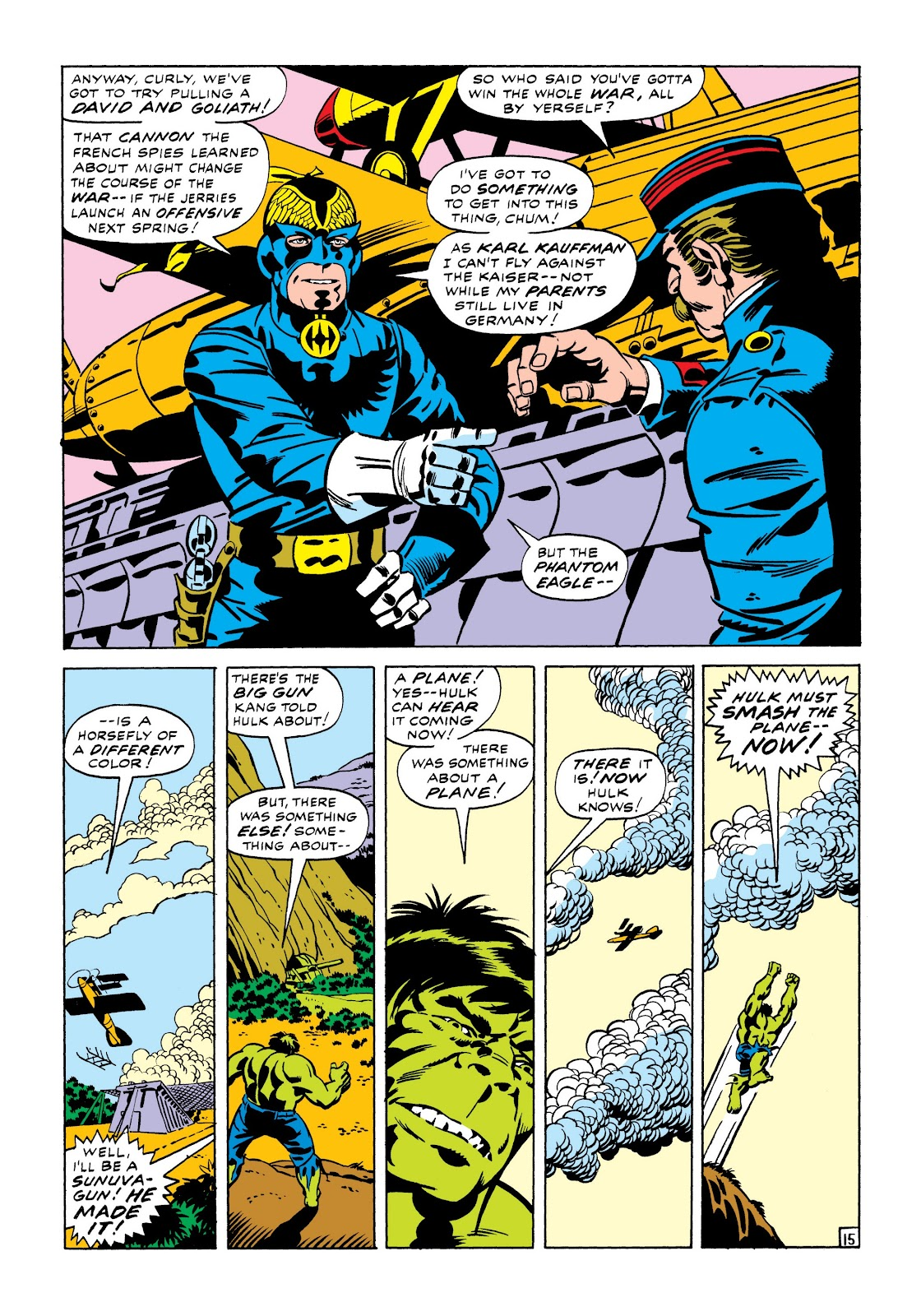 Read online Marvel Masterworks: The Incredible Hulk comic -  Issue # TPB 7 (Part 1) - 21