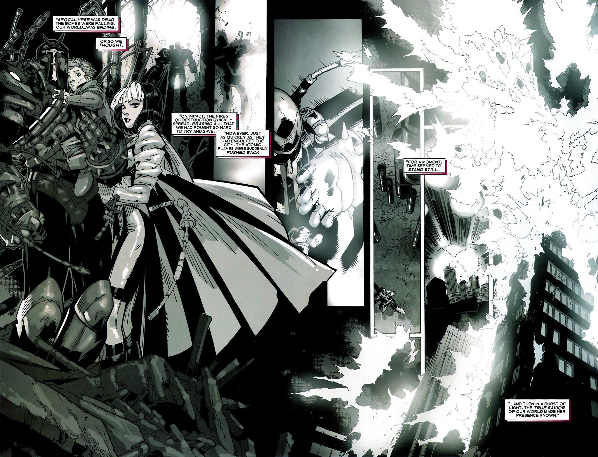 Read online Age of Apocalypse (2005) comic -  Issue #5 - 6