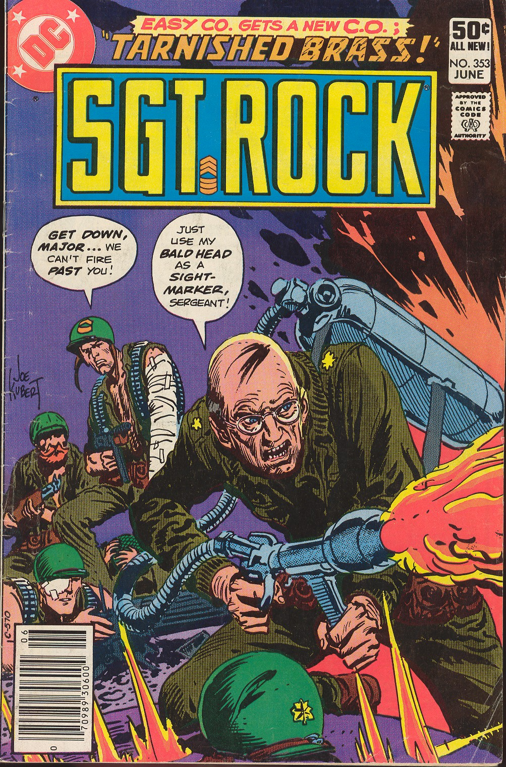 Read online Sgt. Rock comic -  Issue #353 - 1