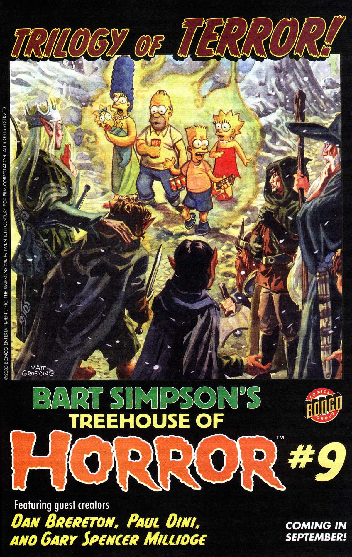 Read online Simpsons Comics Presents Bart Simpson comic -  Issue #13 - 33