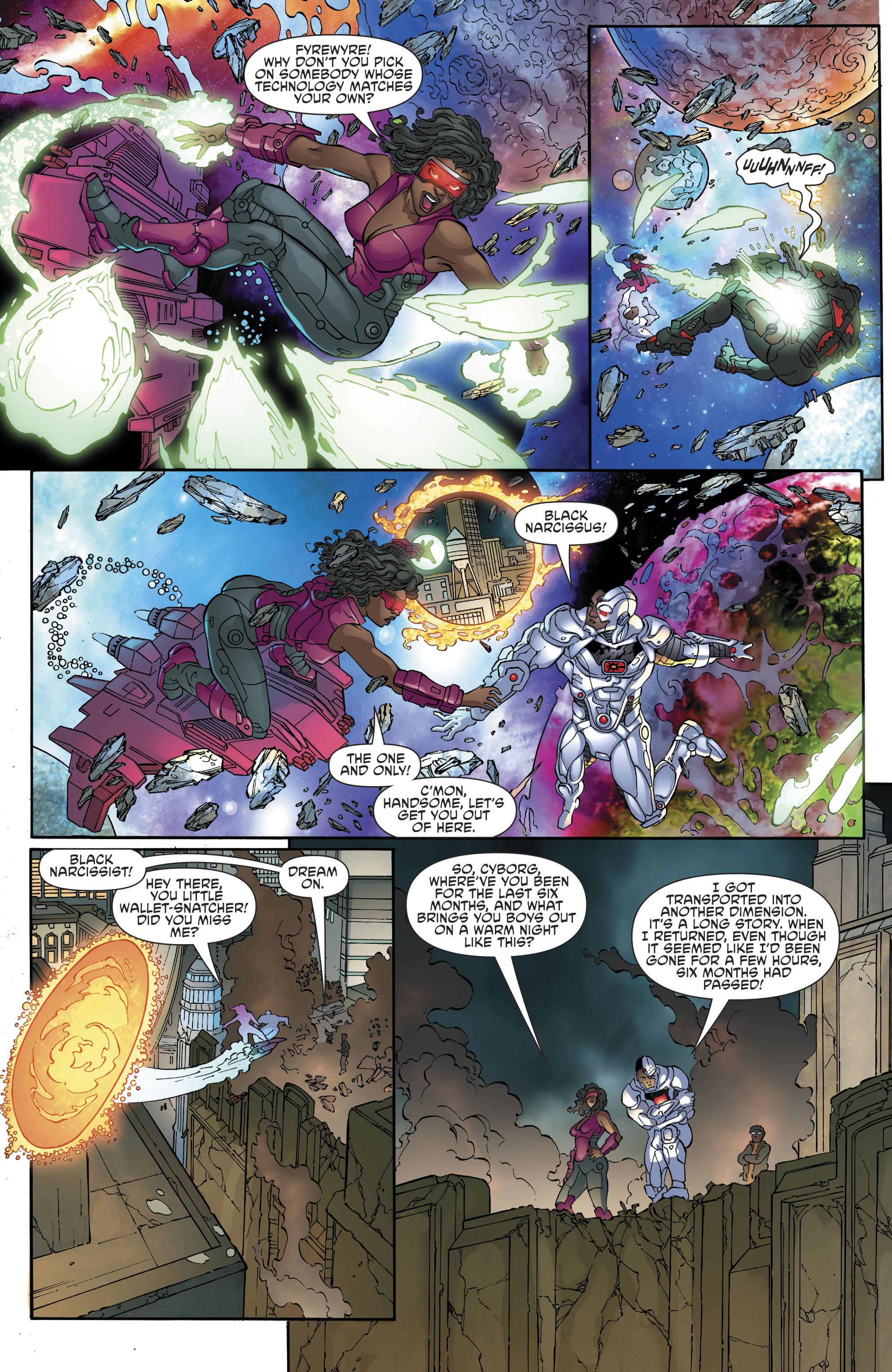 Read online Cyborg (2016) comic -  Issue #13 - 13