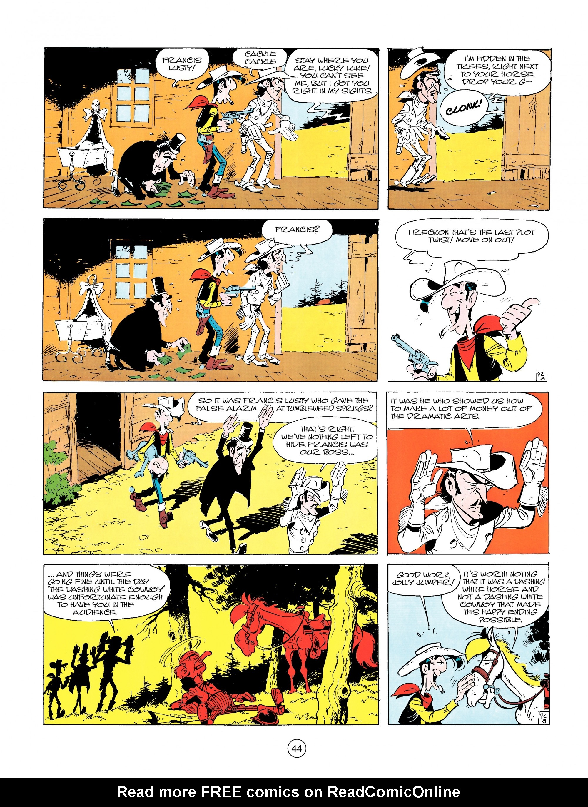 Read online A Lucky Luke Adventure comic -  Issue #14 - 44