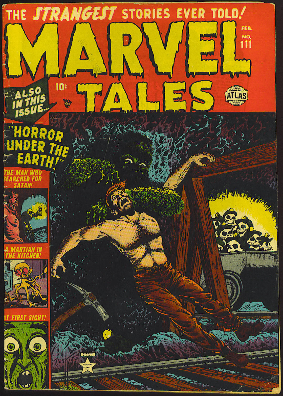 Marvel Tales (1949) issue 111 - Page 1