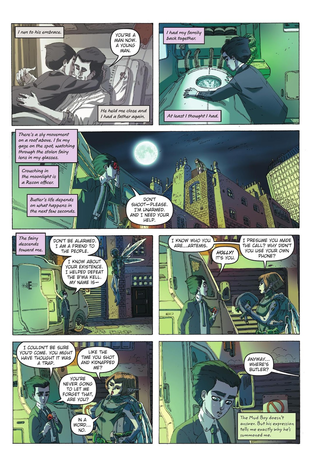 Artemis Fowl: The Eternity Code issue TPB - Page 35