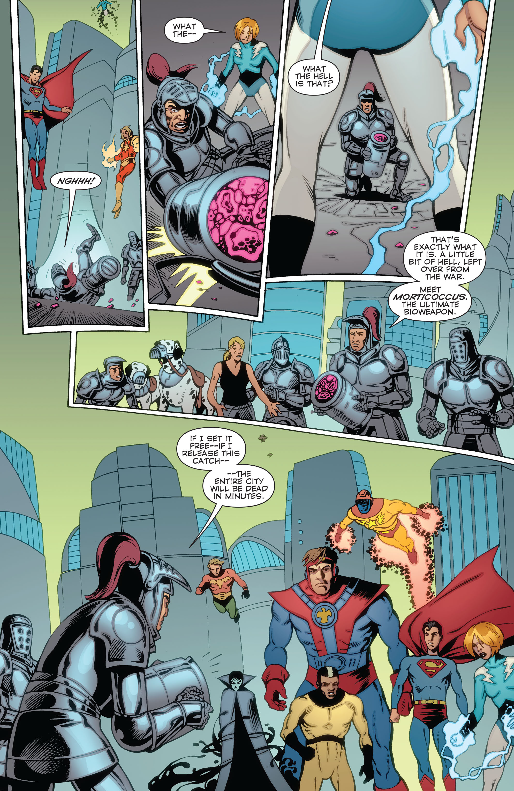 Read online Convergence Superboy and the Legion of Super-Heroes comic -  Issue #2 - 15
