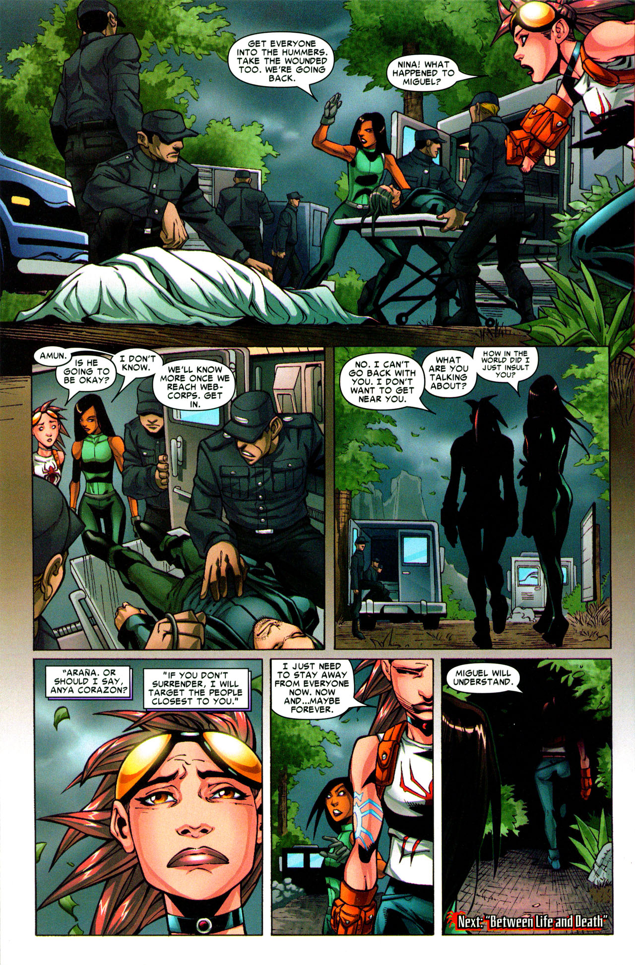 Read online Araña: Heart of the Spider comic -  Issue #3 - 24