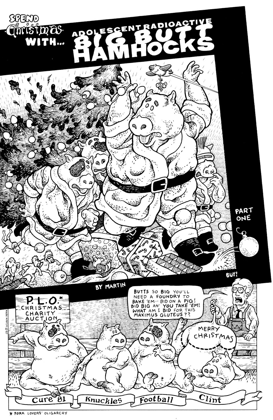 Adolescent Radioactive Black Belt Hamsters (1986) issue 9 - Page 31