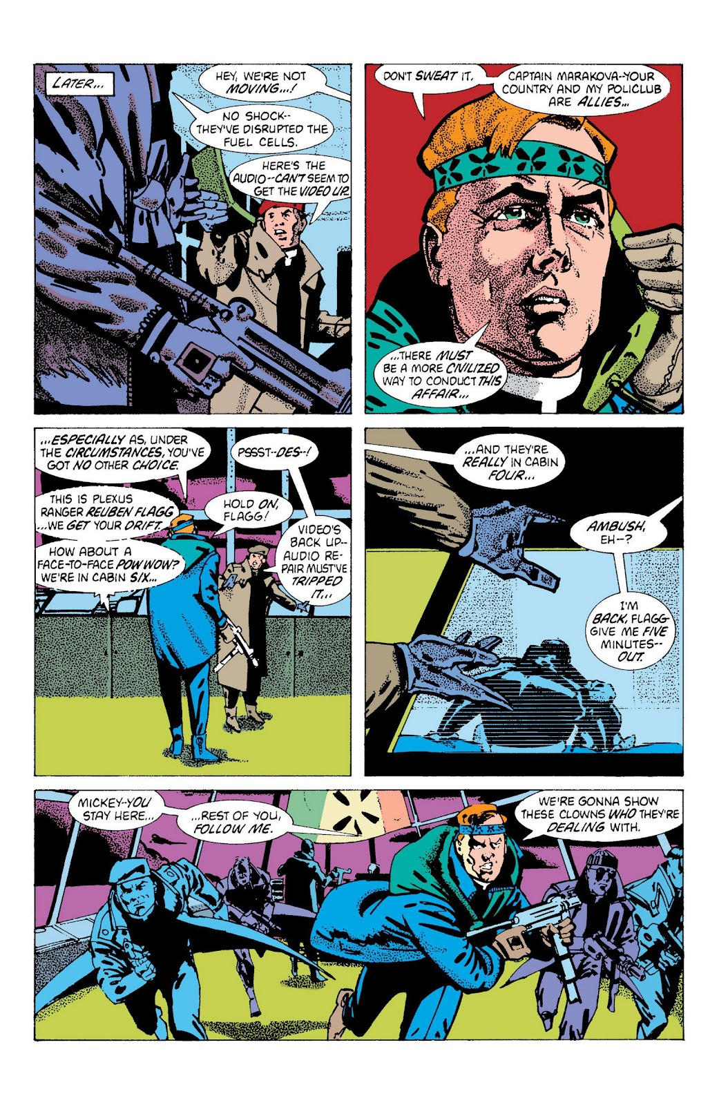 American Flagg! issue Definitive Collection (Part 2) - Page 36