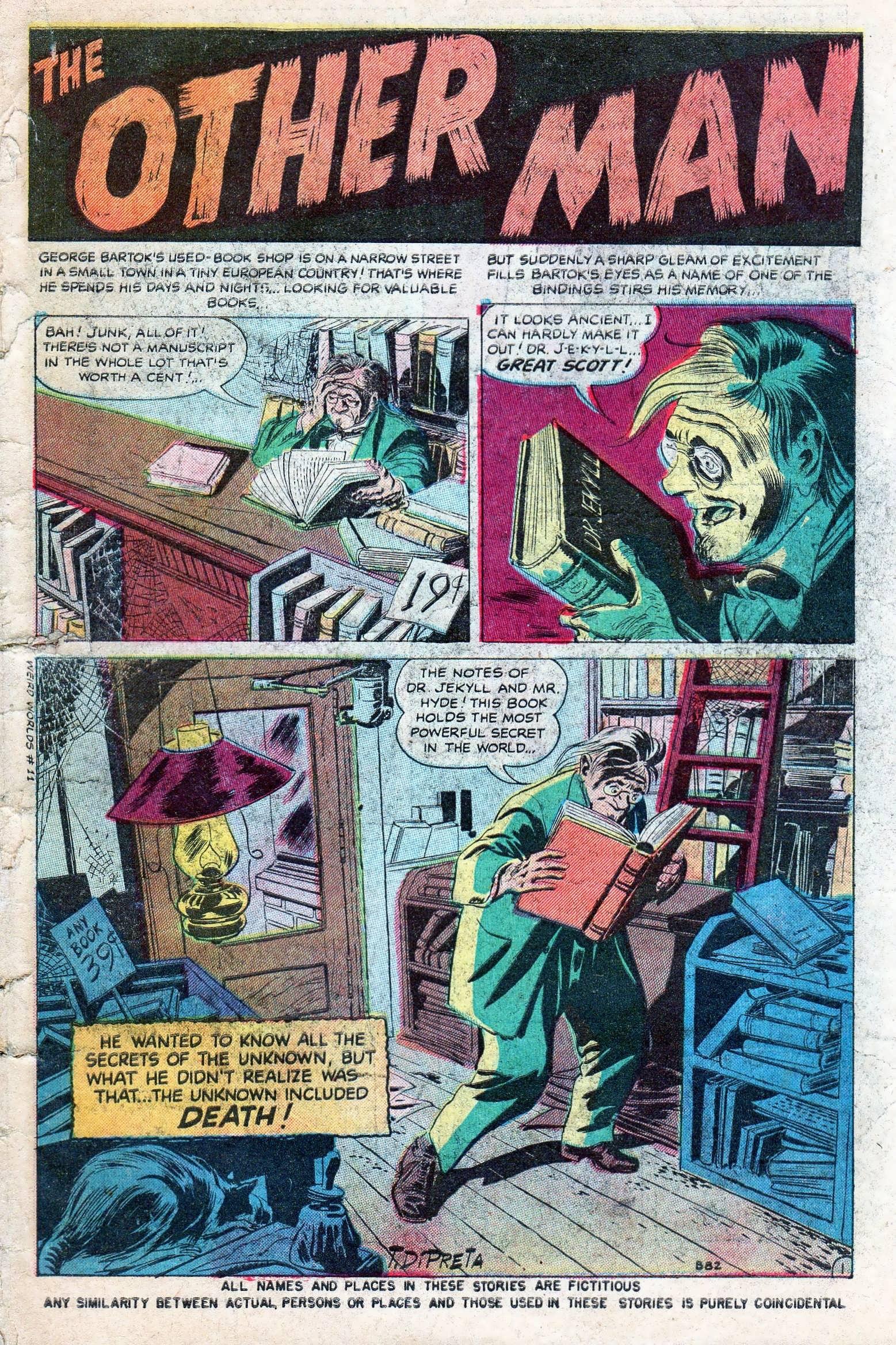 Read online Adventures into Weird Worlds comic -  Issue #11 - 3