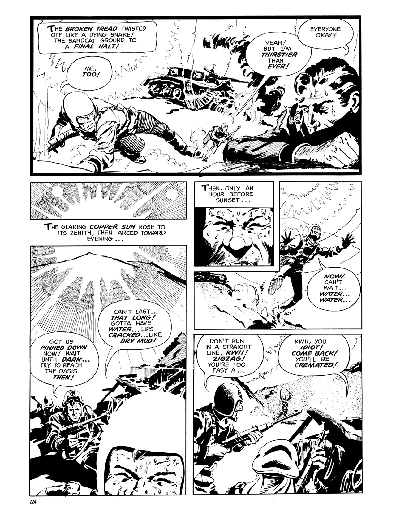 Read online Eerie Archives comic -  Issue # TPB 6 - 223