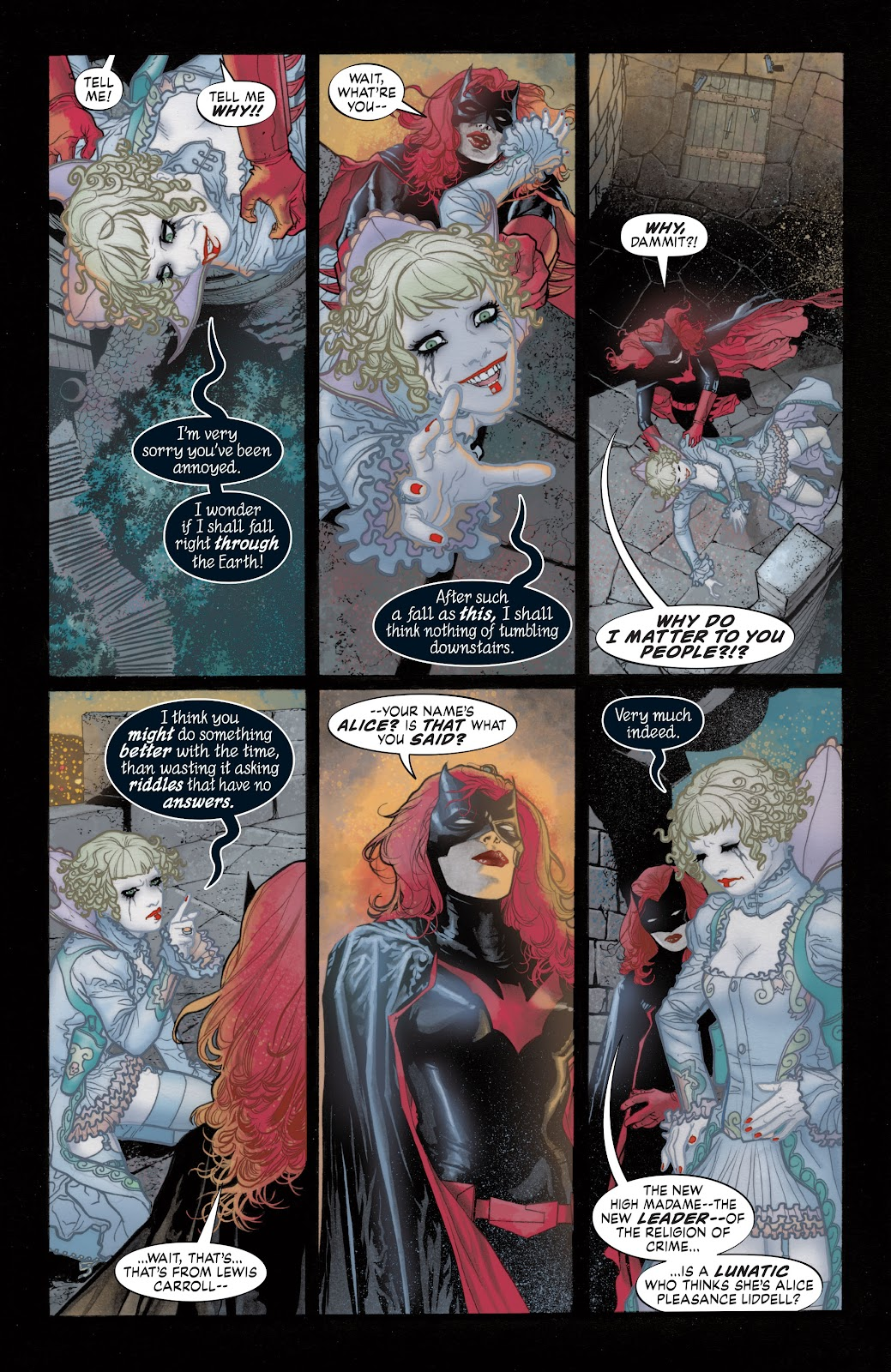 Read online Detective Comics (1937) comic -  Issue # _TPB Batwoman - Elegy (Part 1) - 33