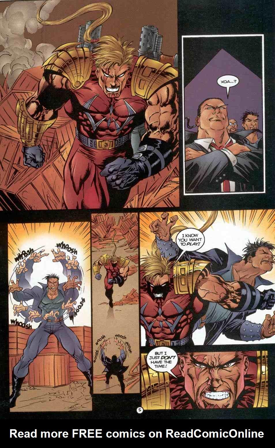 Read online Ultraverse Premiere comic -  Issue #3 - 19