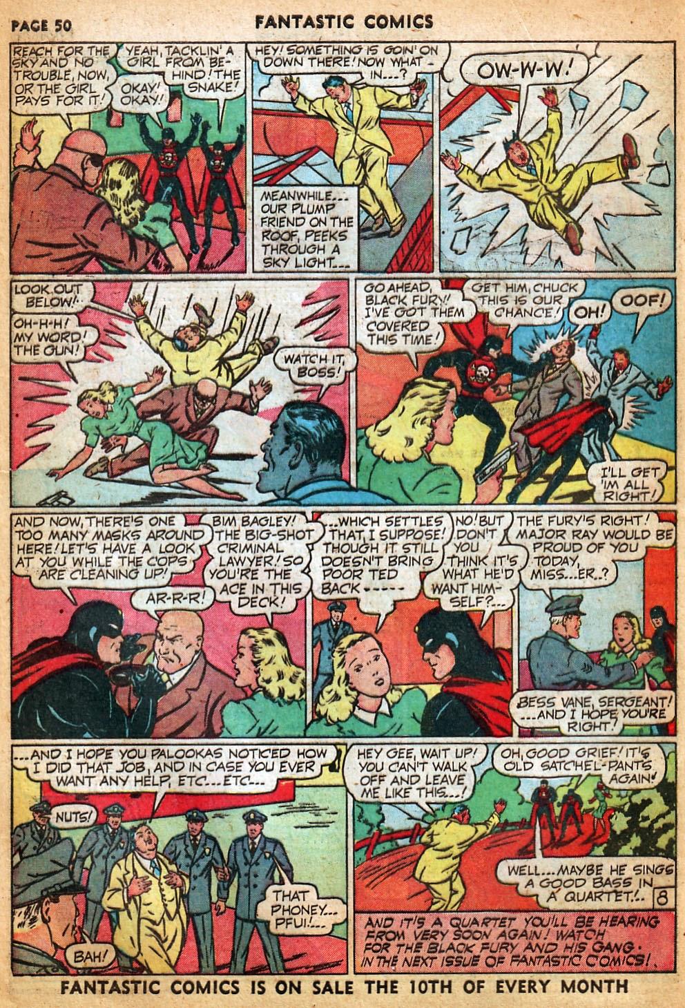 Read online Fantastic Comics comic -  Issue #22 - 51