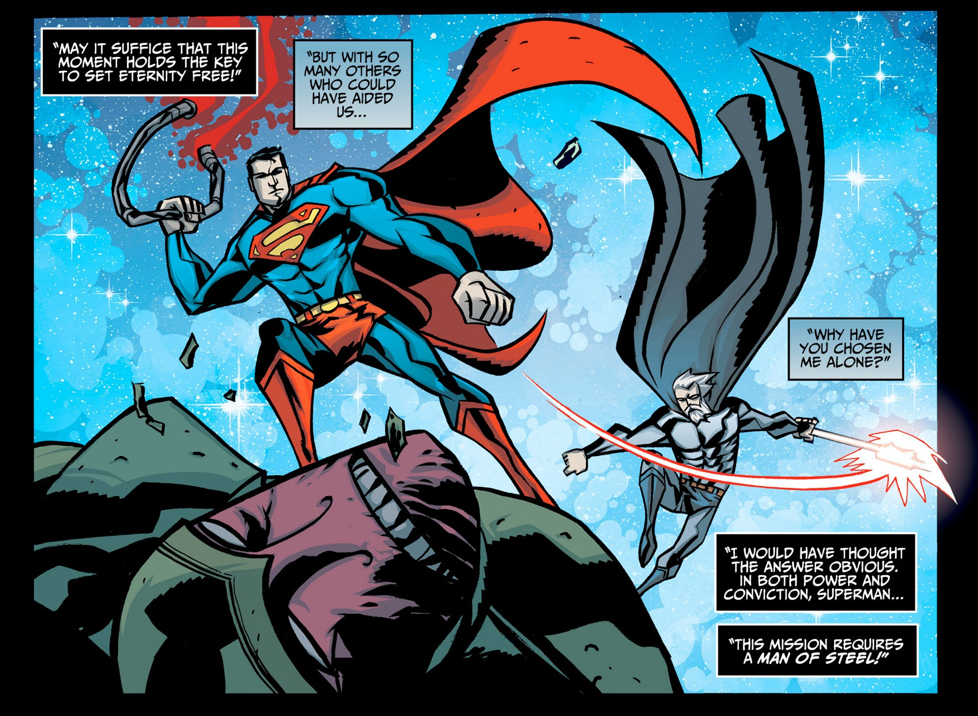 Read online Adventures of Superman [I] comic -  Issue #6 - 12