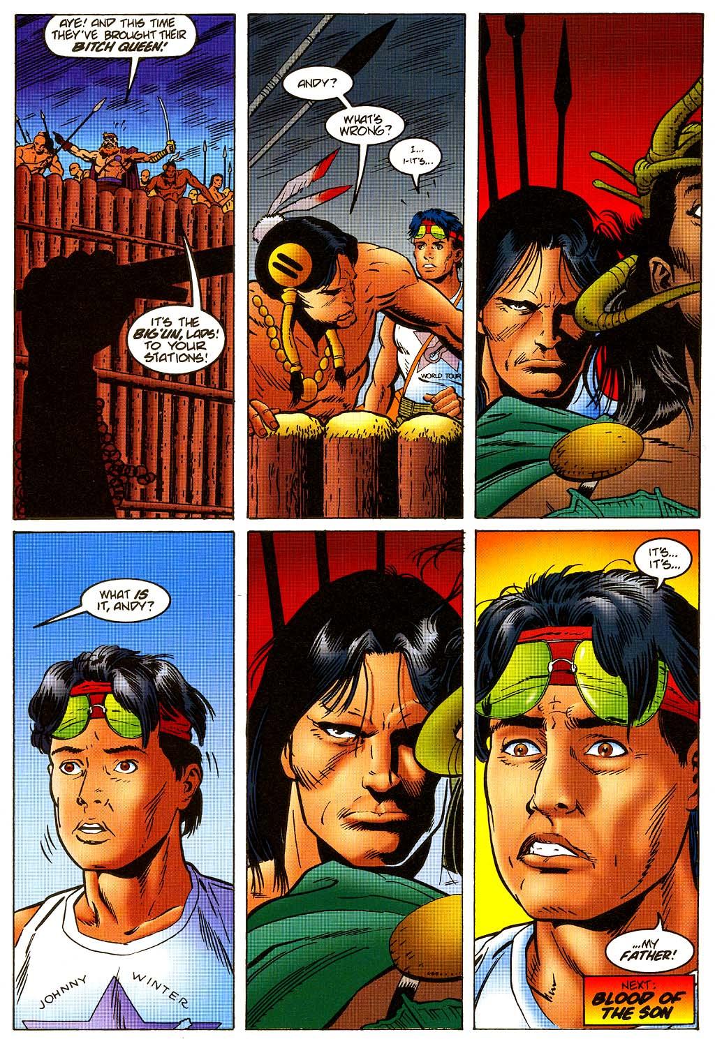 Read online Turok, Dinosaur Hunter (1993) comic -  Issue #45 - 22
