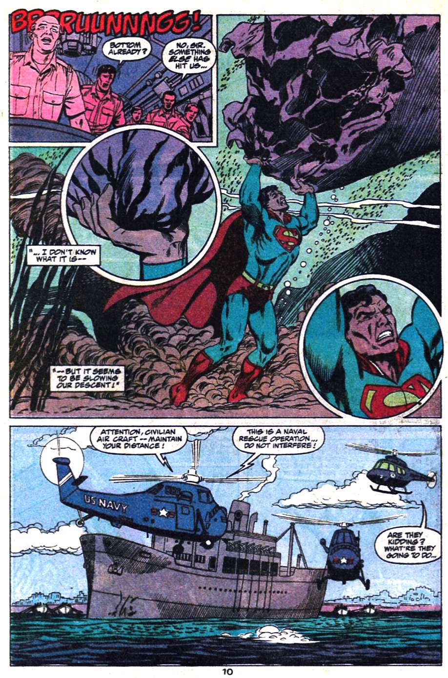 Read online Action Comics (1938) comic -  Issue #650 - 11