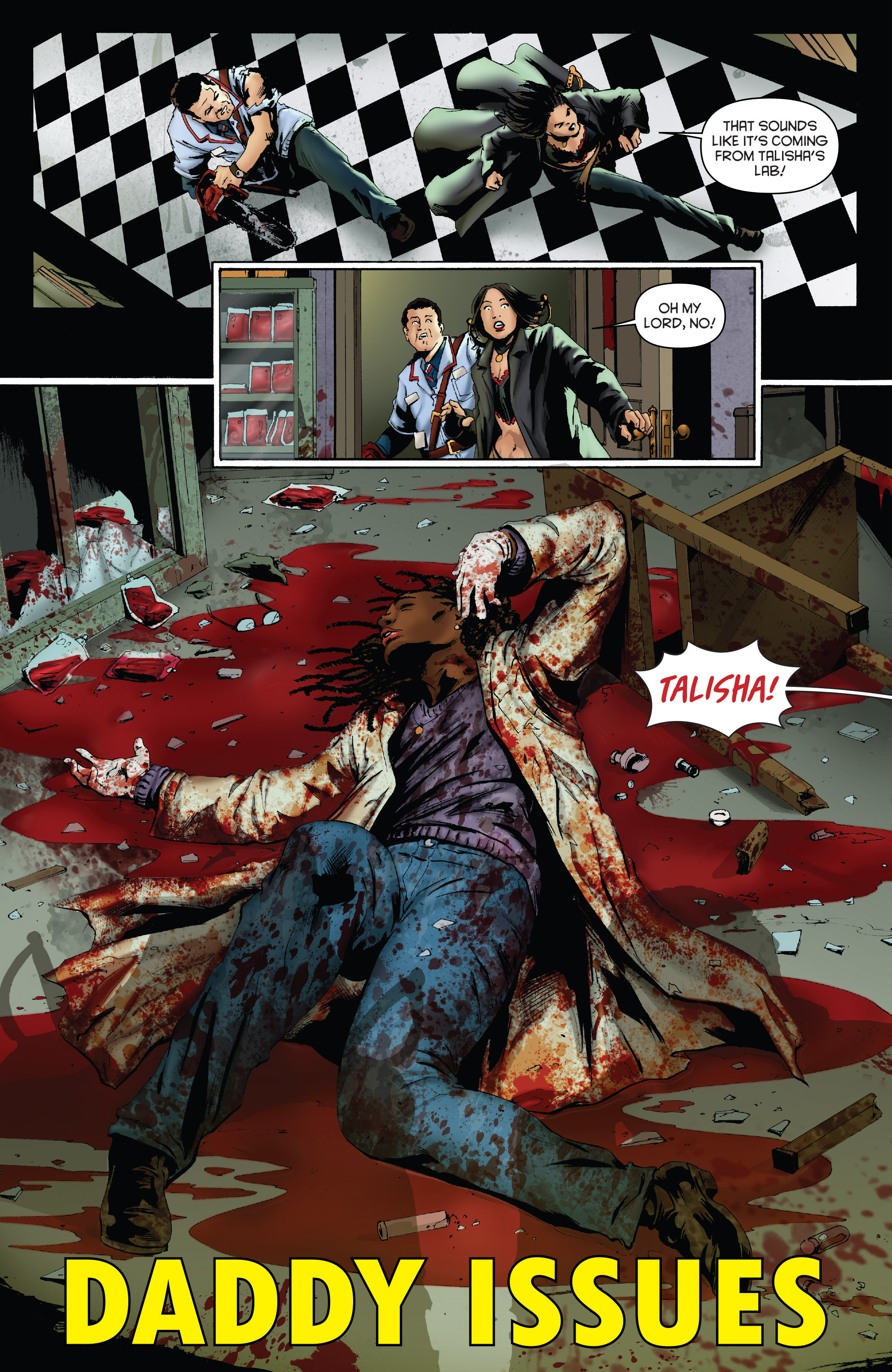 Read online Army of Darkness: Furious Road comic -  Issue #3 - 5