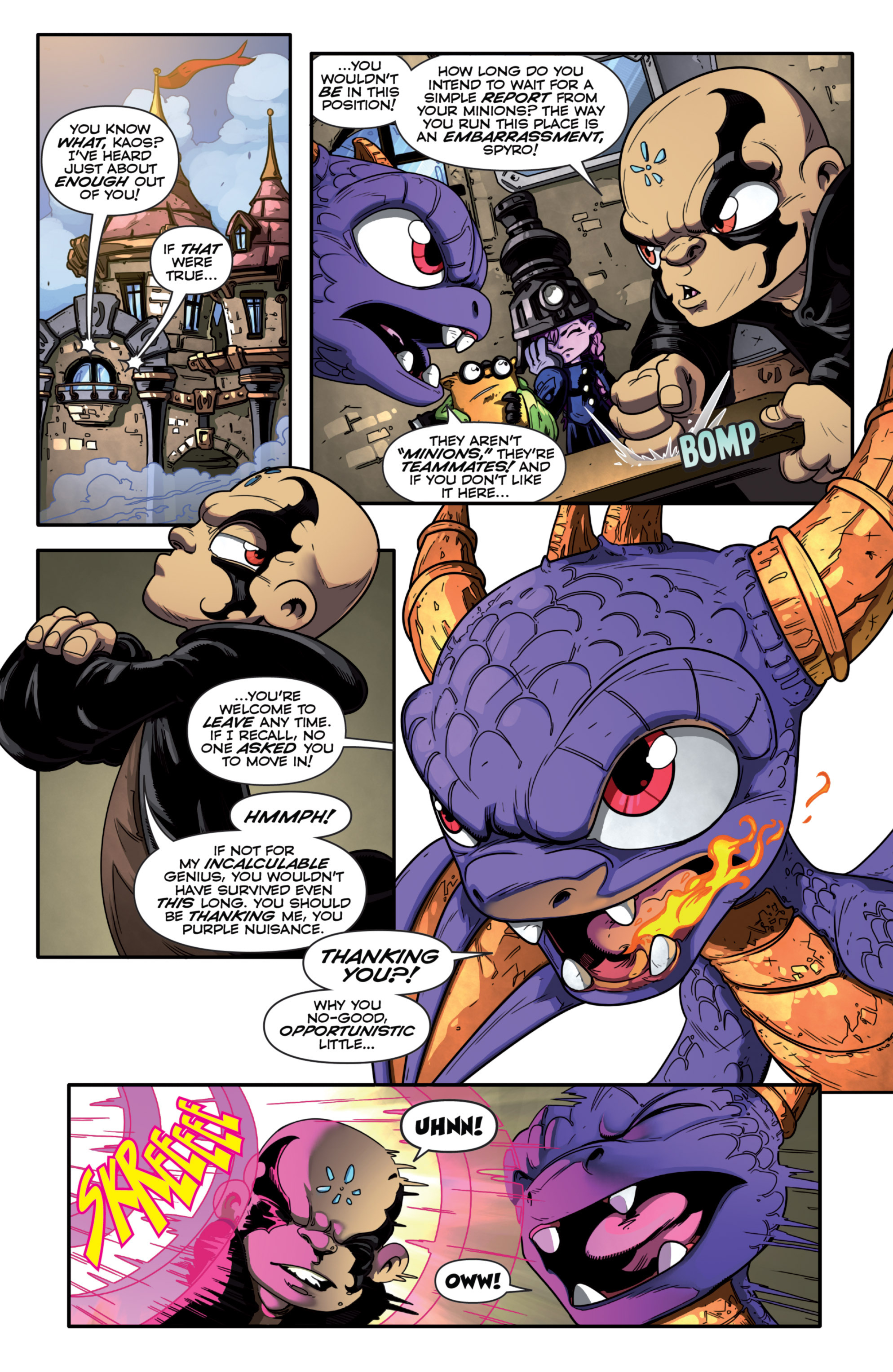 Read online Skylanders Superchargers comic -  Issue #2 - 8