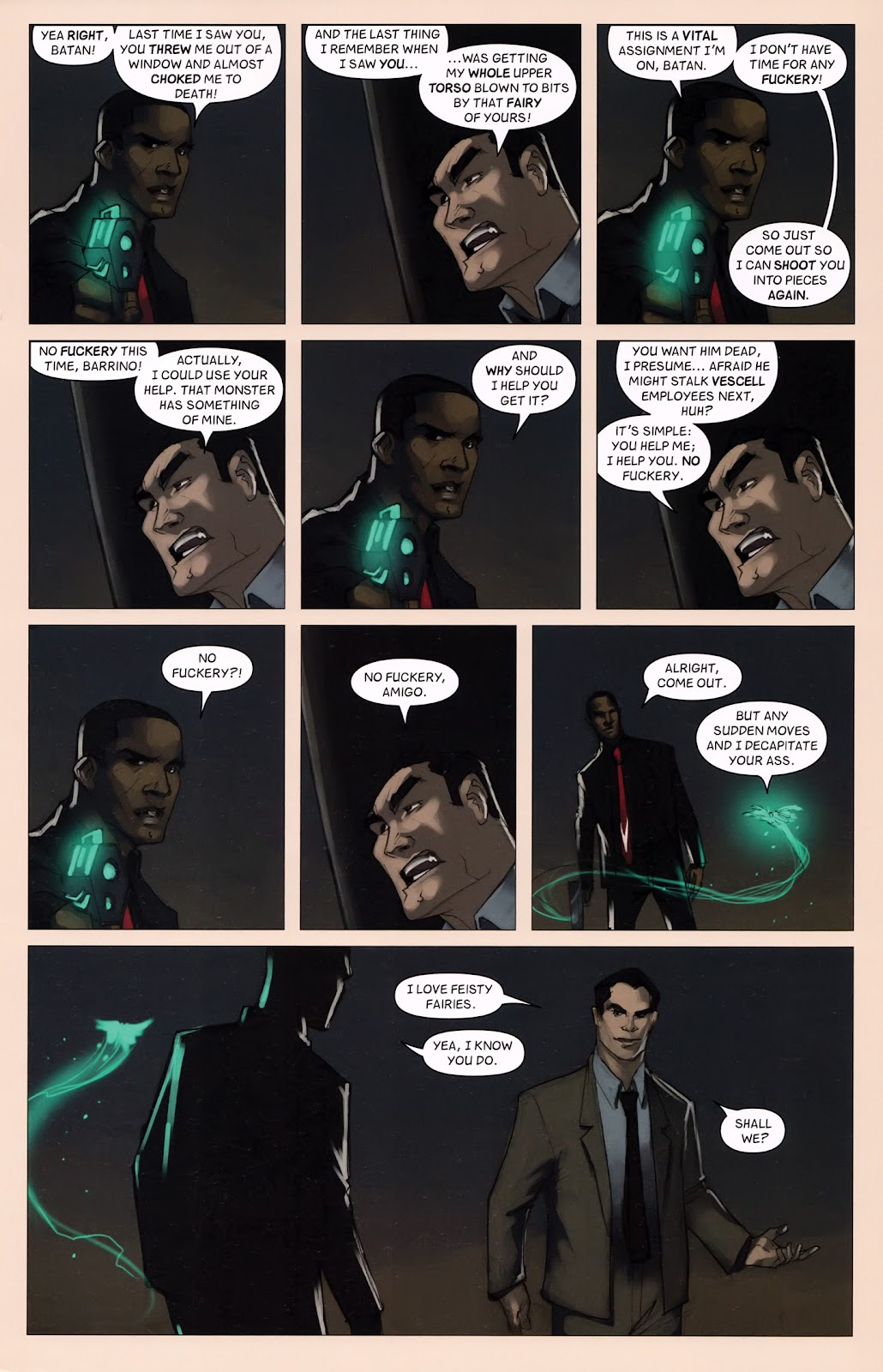 Read online Vescell comic -  Issue #6 - 23