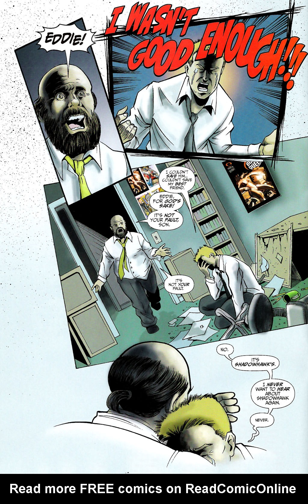 Read online ShadowHawk (2005) comic -  Issue #10 - 8