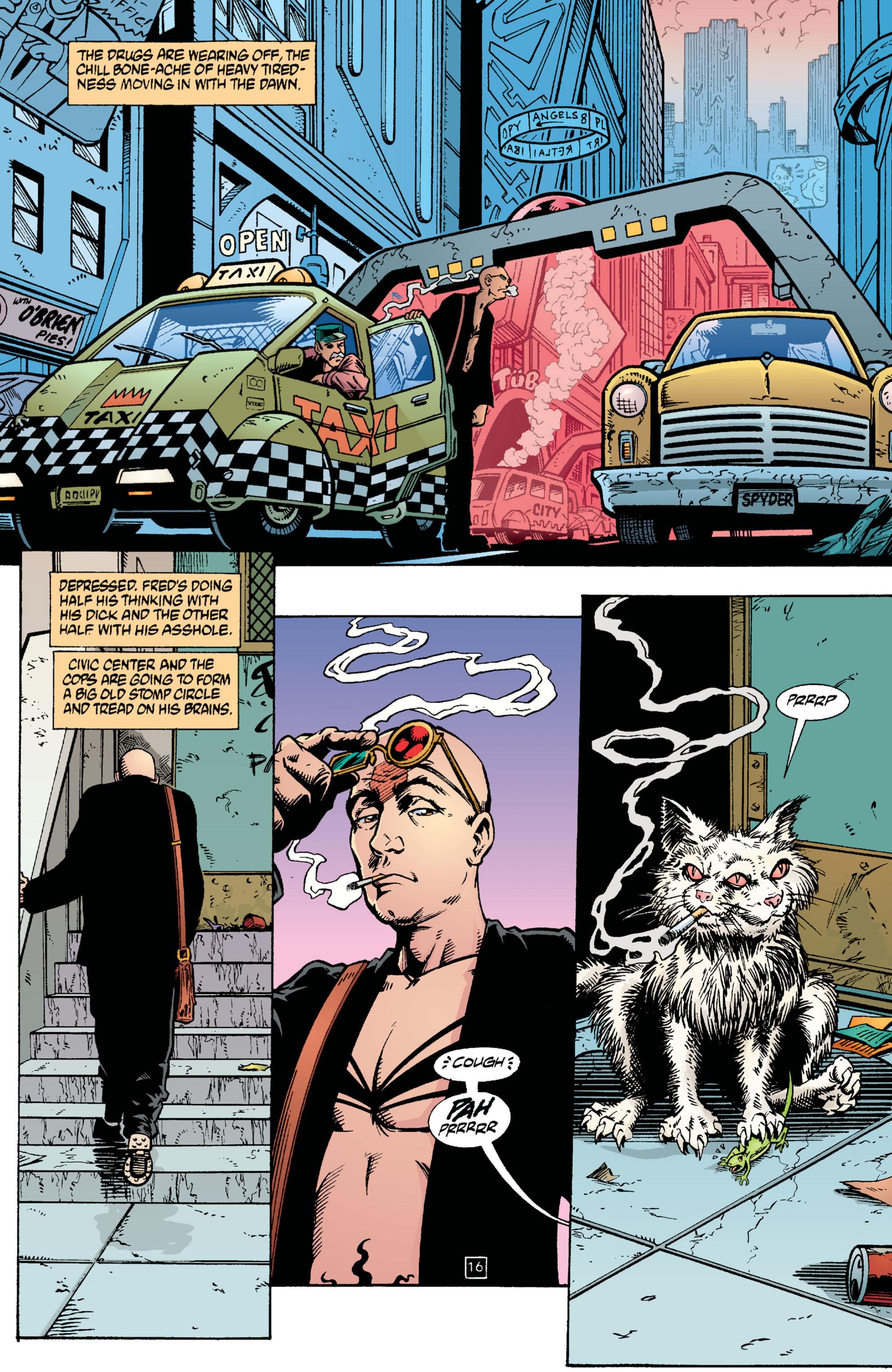 Read online Transmetropolitan comic -  Issue #2 - 17