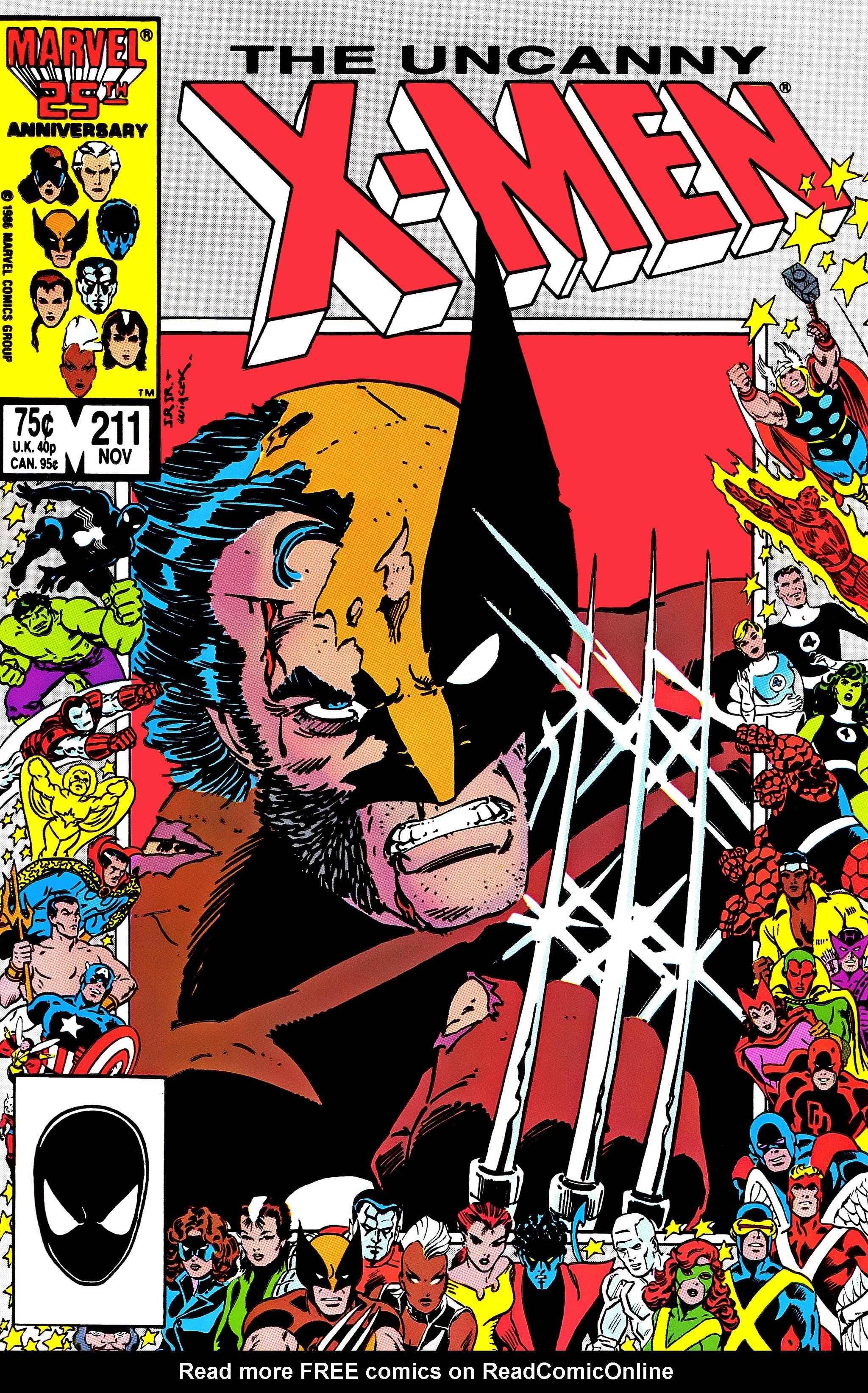 Uncanny X-Men (1963) 211 Page 1