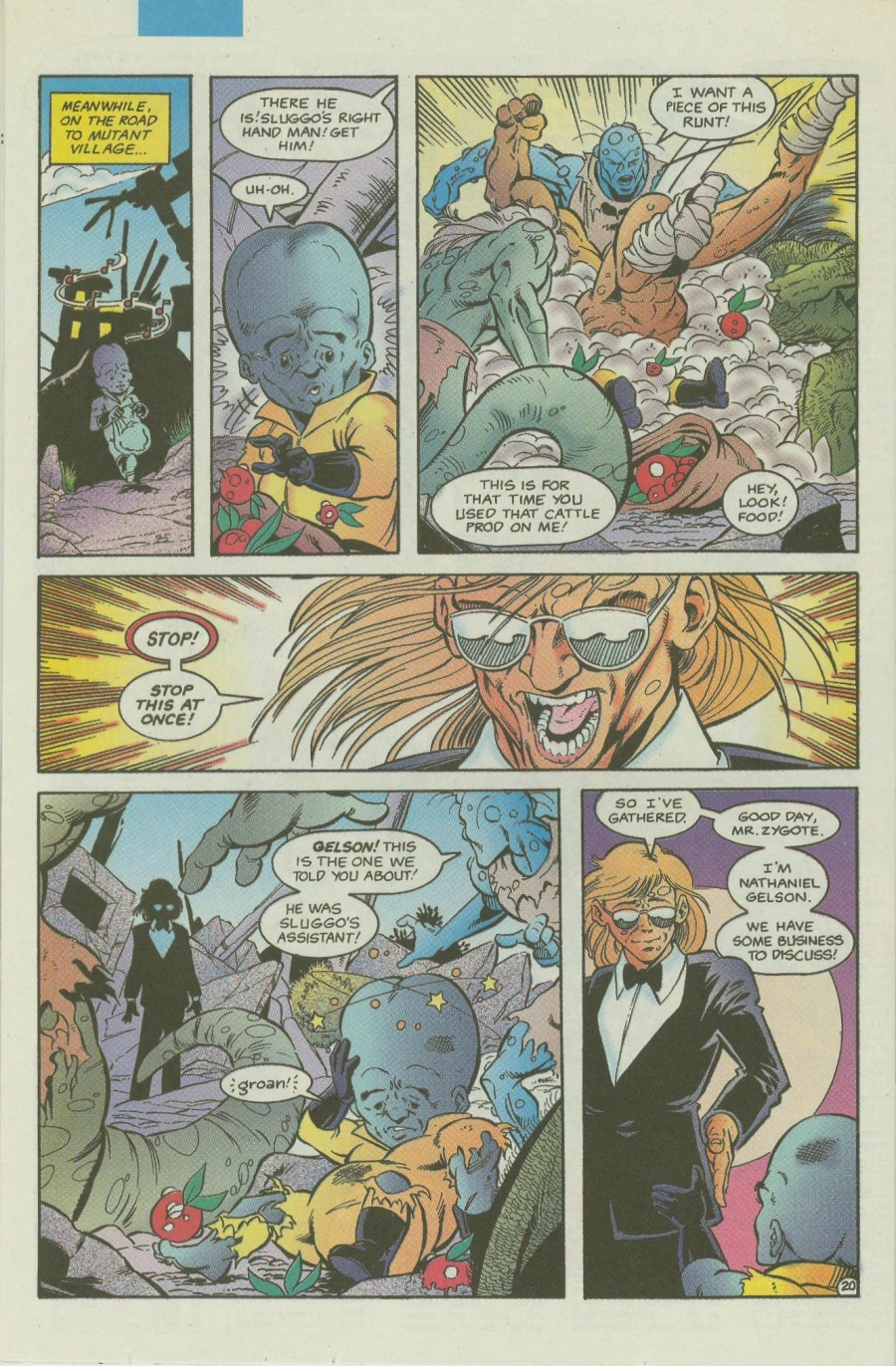 Read online Ex-Mutants comic -  Issue #4 - 25