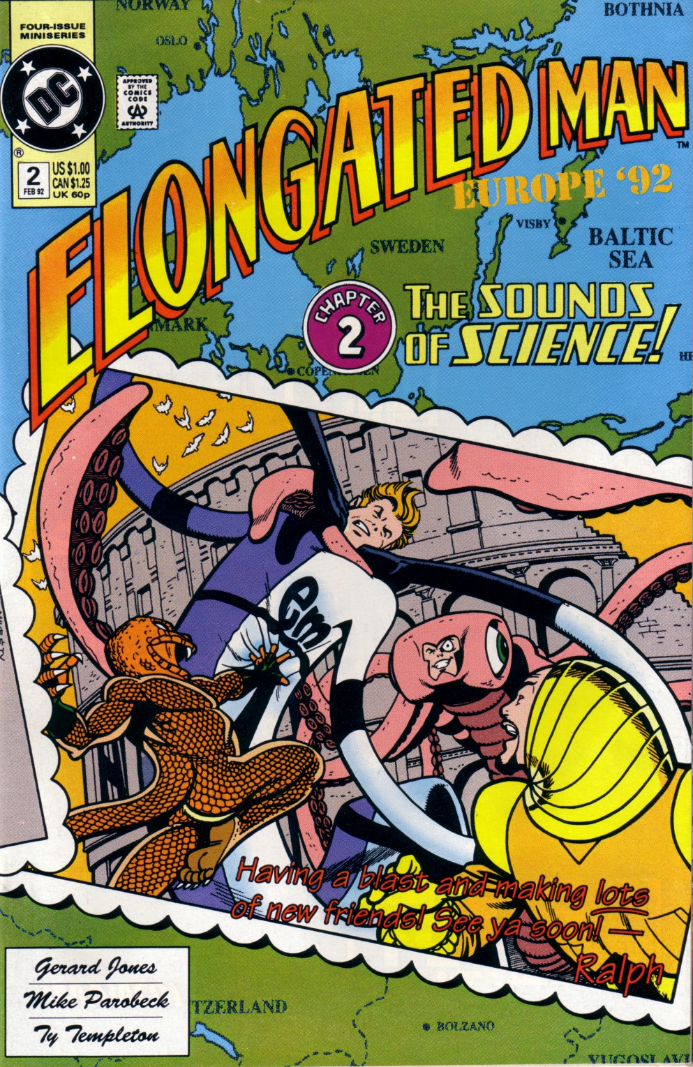 Elongated Man 2 Page 1