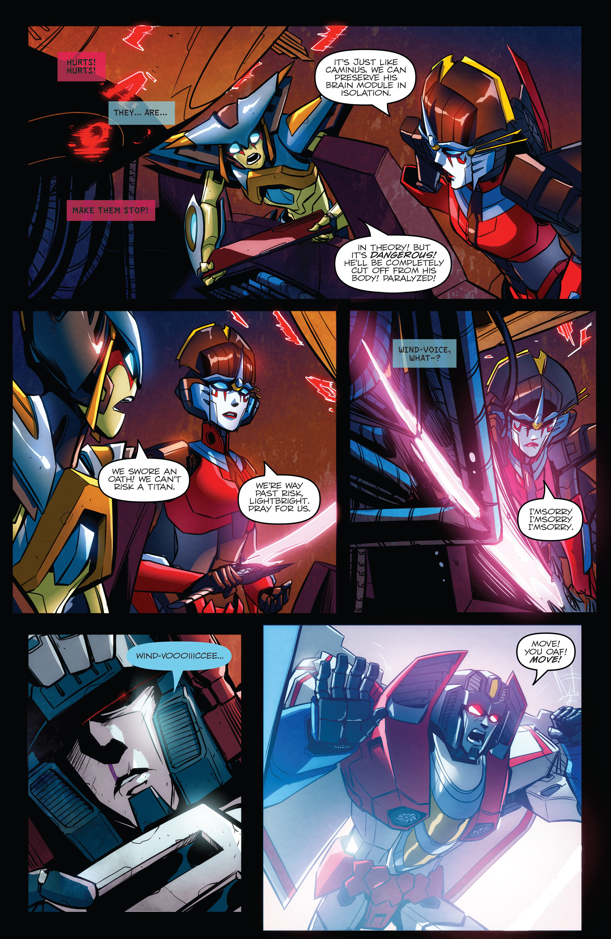 Read online Transformers: Till All Are One comic -  Issue #6 - 11